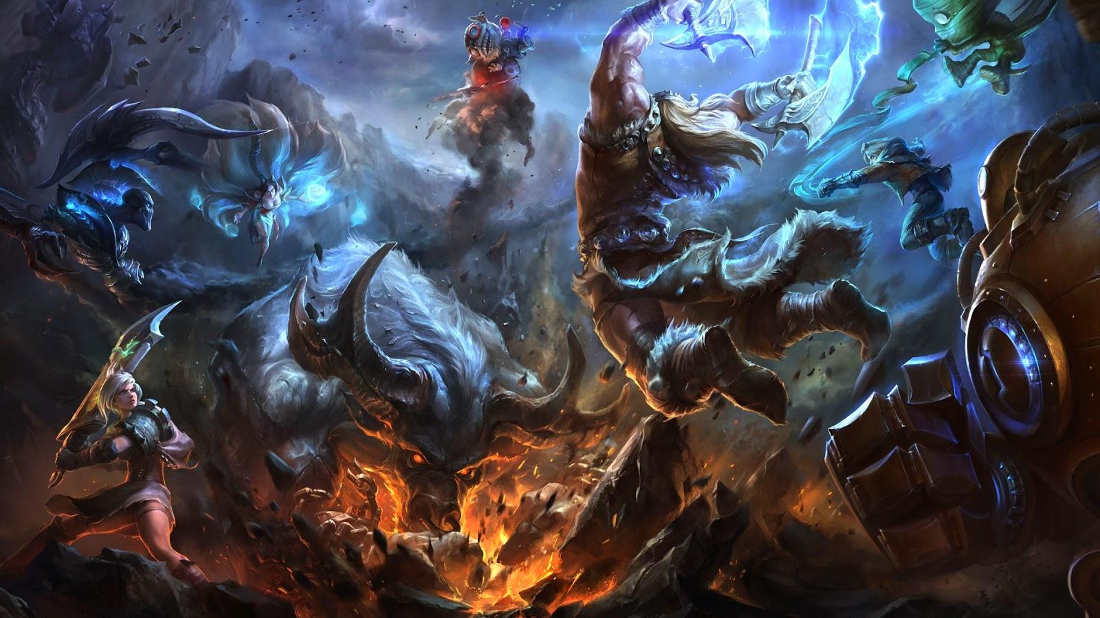 Beautiful Lux Lol Wallpapers Hd Te Olaf League Of Legends Wallpaper Desktop 1600x900