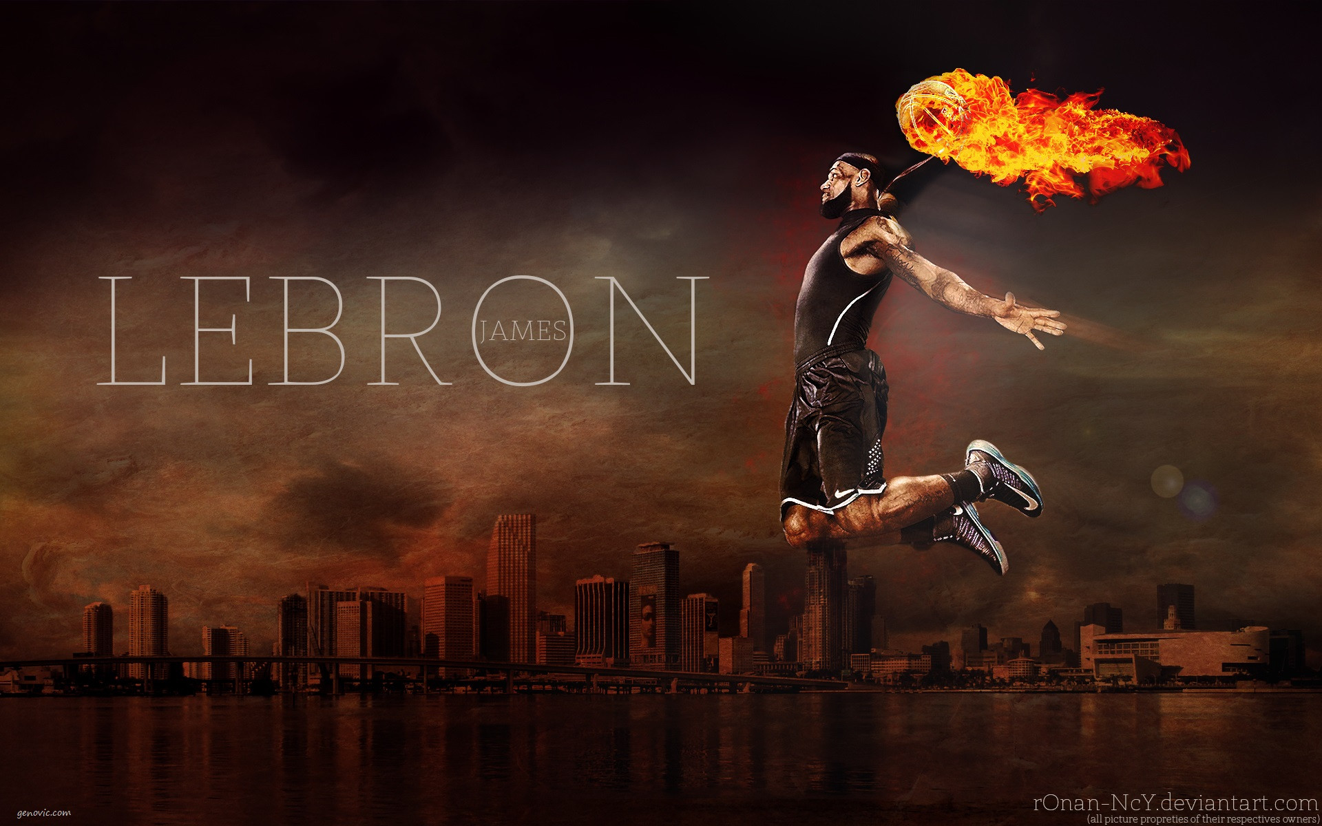 Lebron James HD Wallpapers Wallpaper 1920x1200