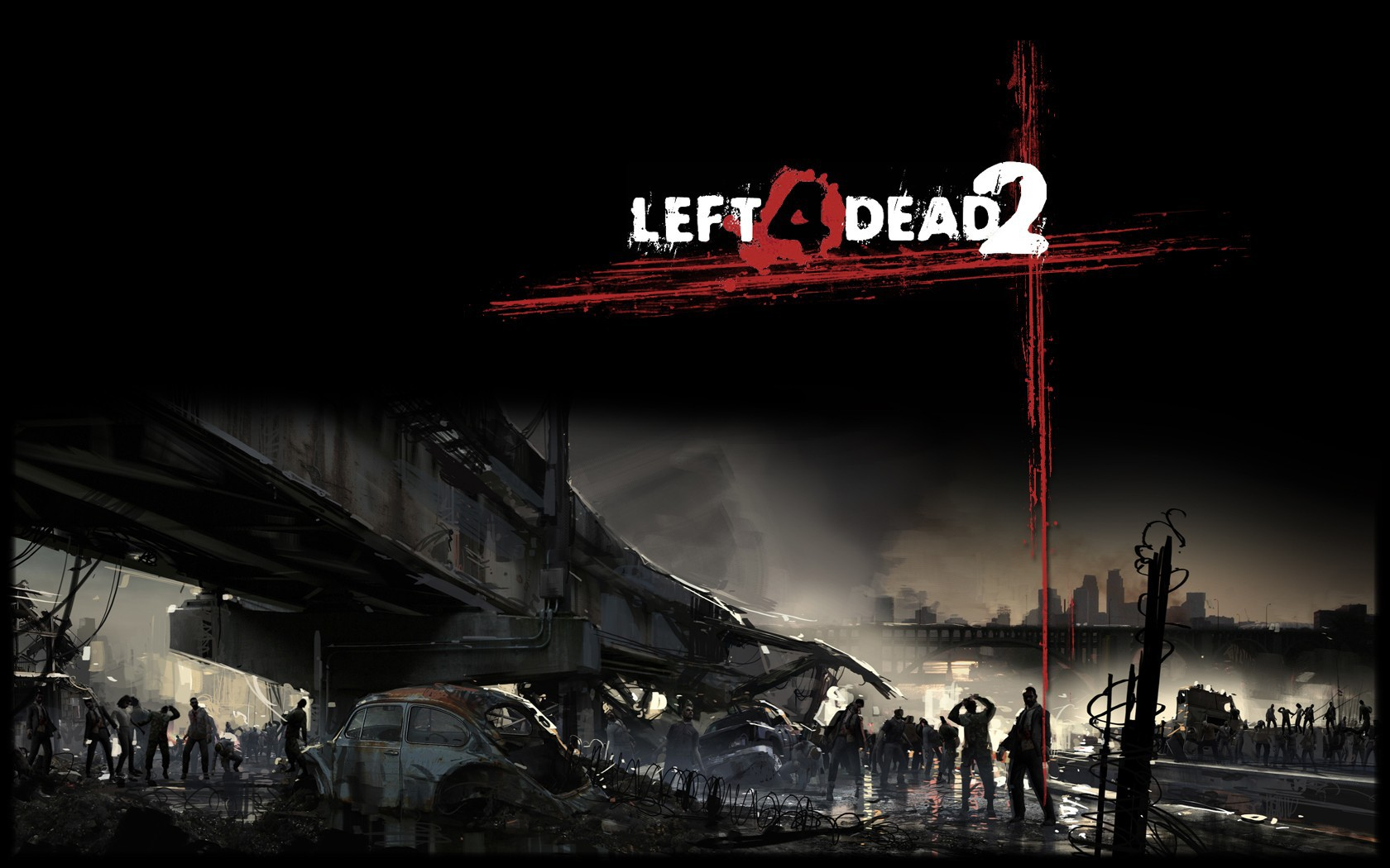 Left  Dead wallpaper  WallpaperUP 1680x1050