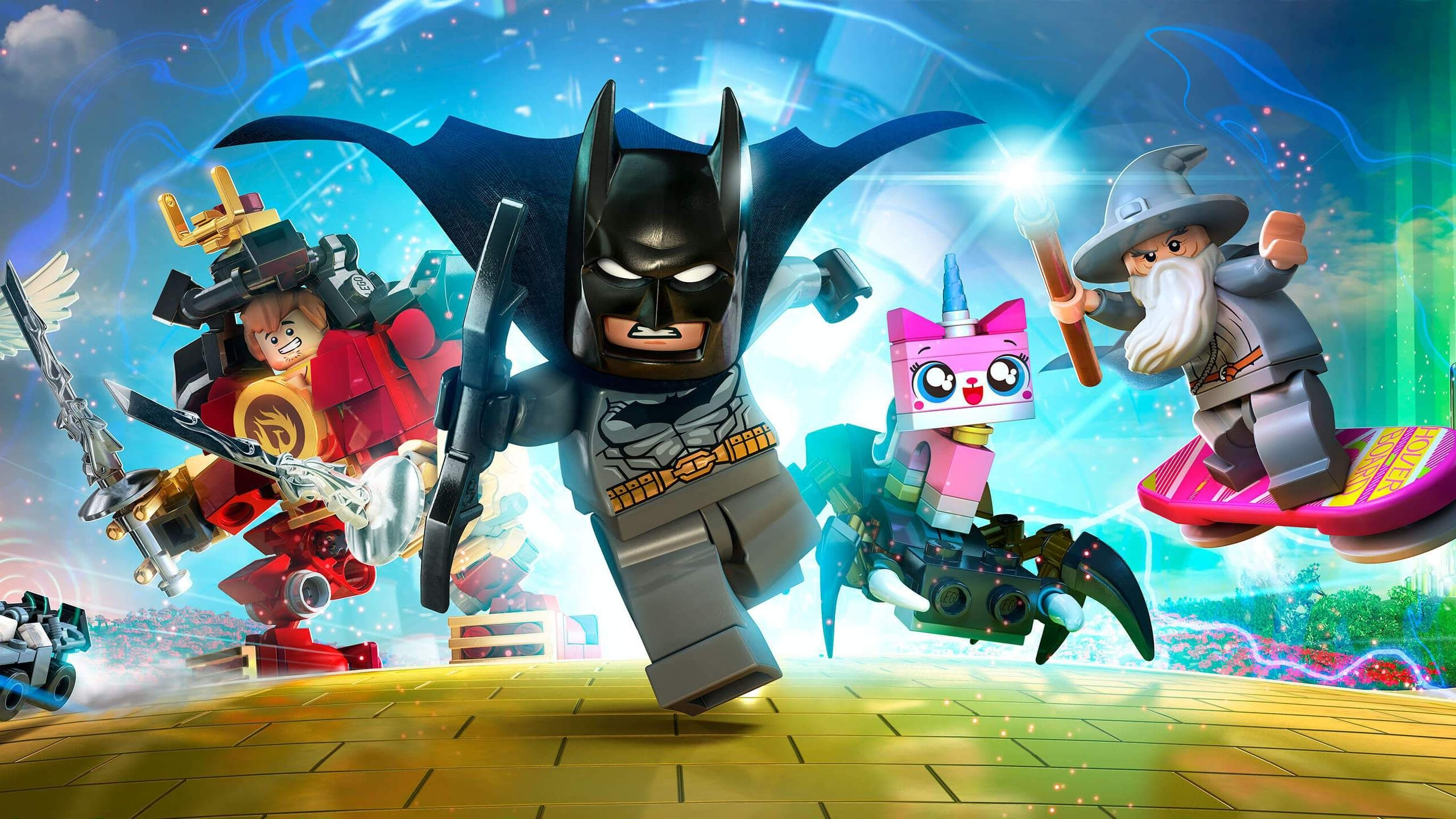 UPDATE:  LEGO Marvel and DC Comics Super Heroes Sets Were 2560x1440
