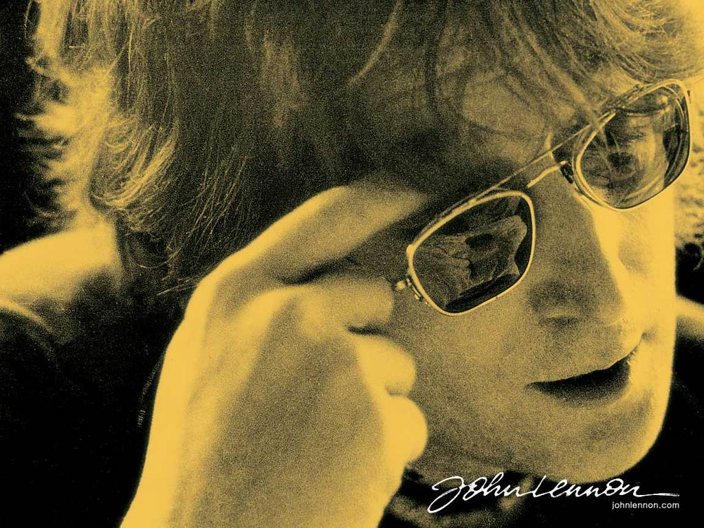 John Lennon wallpaper HD background download desktop  iPhones 1024x768
