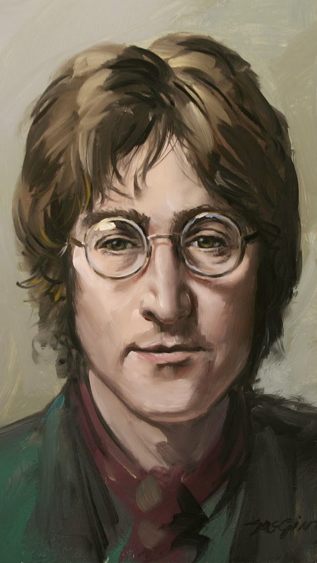 Top John Lennon Quotes Images and wallpapers 640x1136
