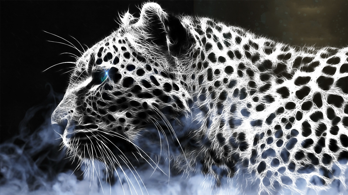 Leopard Pic By Justin Petrie On FeelGrafix 1366x768