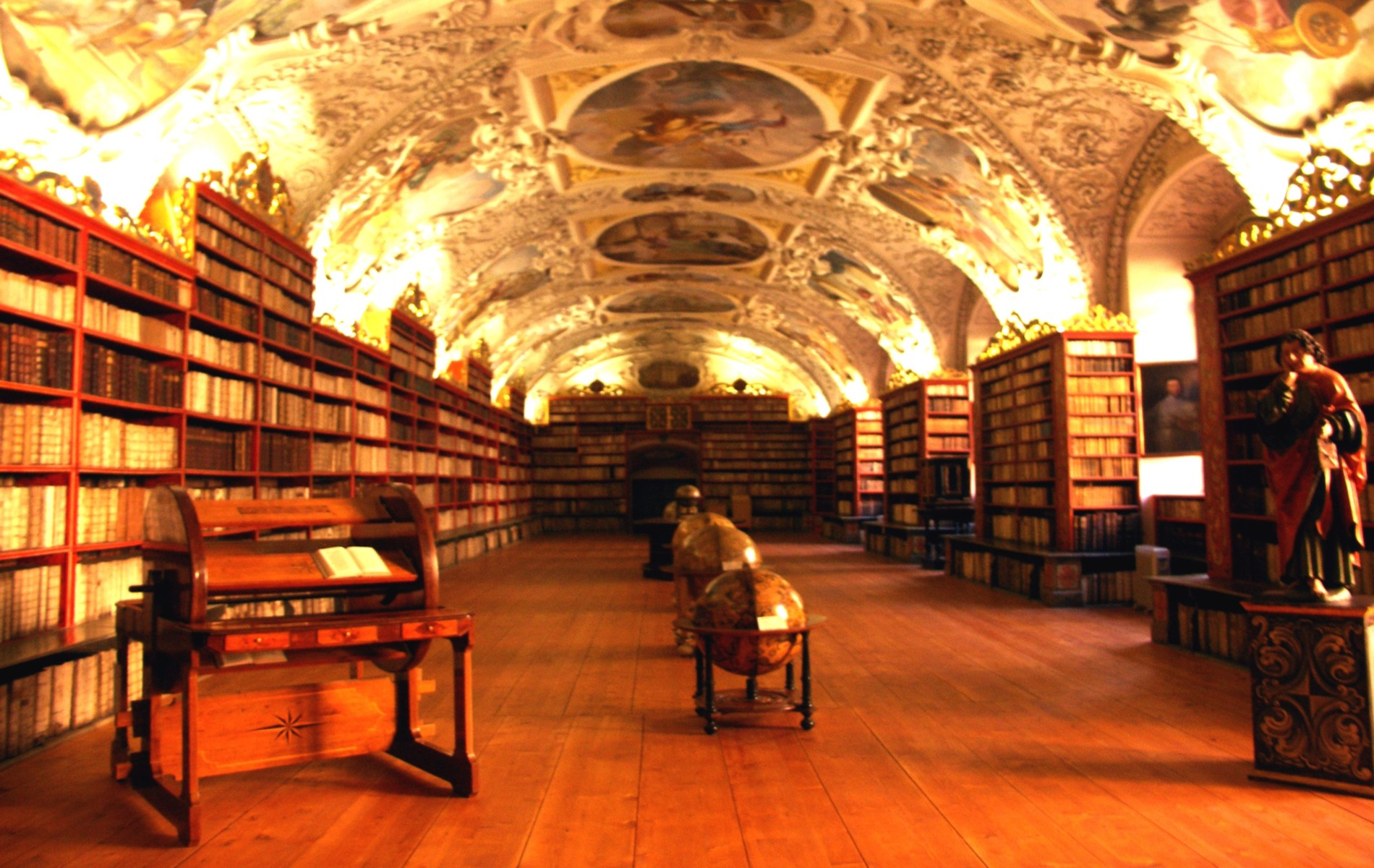 Library Background Image