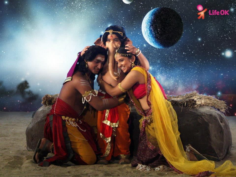 Mahadev and Parvati spend some quality time with each other Devon