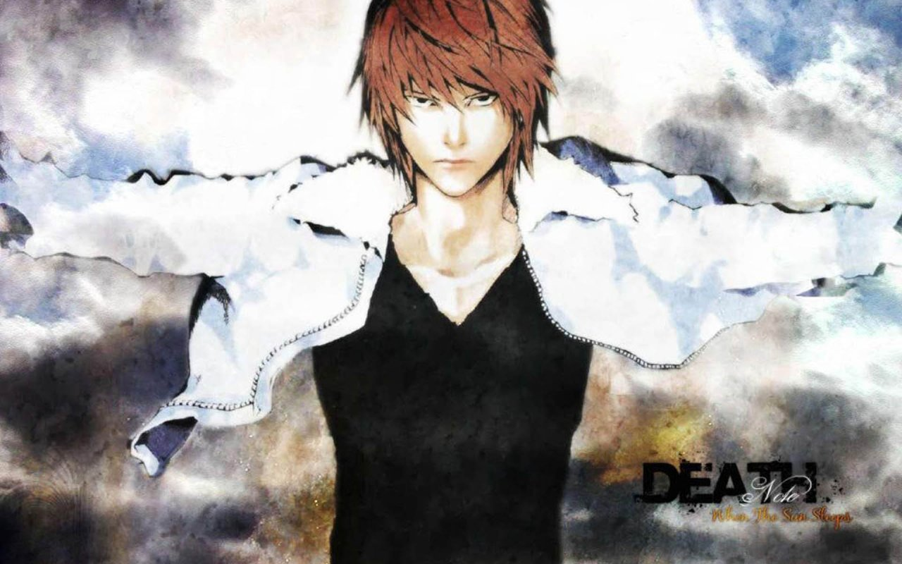 Light Yagami wallpapers 1280x800