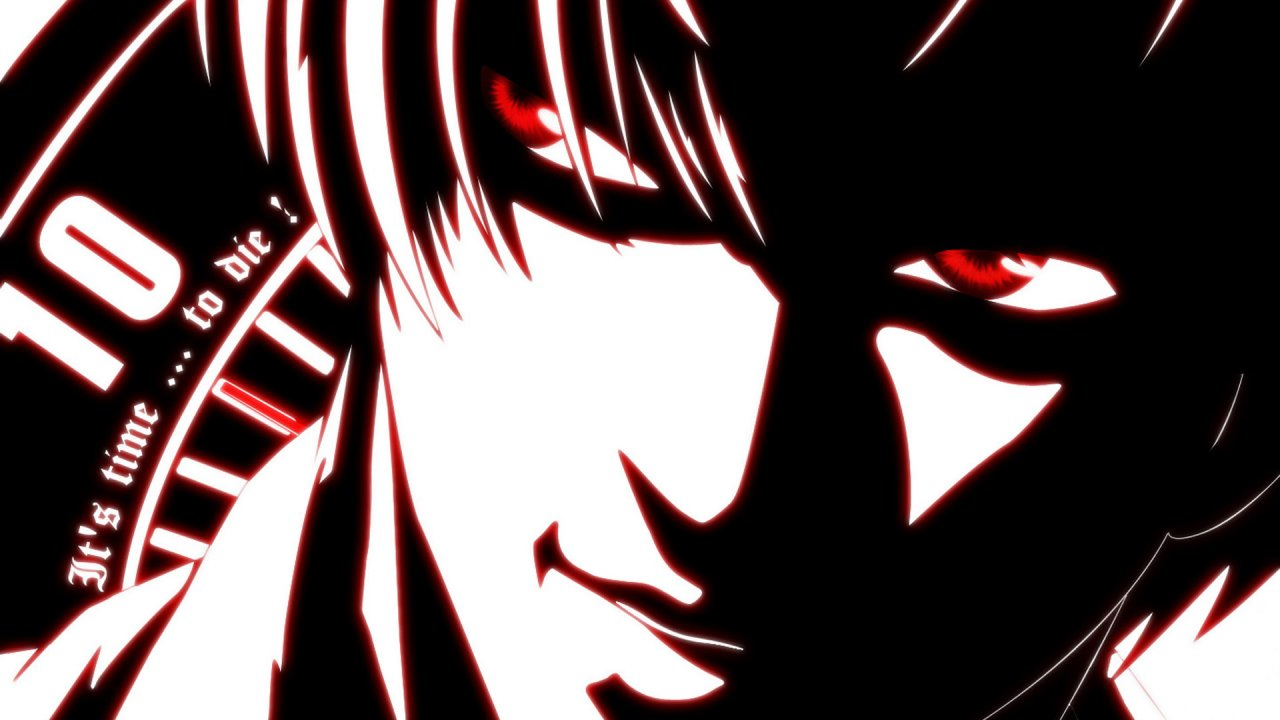 Light Yagami Background Wallpapers 1280x720