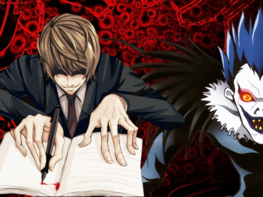 Light Yagami  Minimalist Wallpaper by greenmapple on 900x675