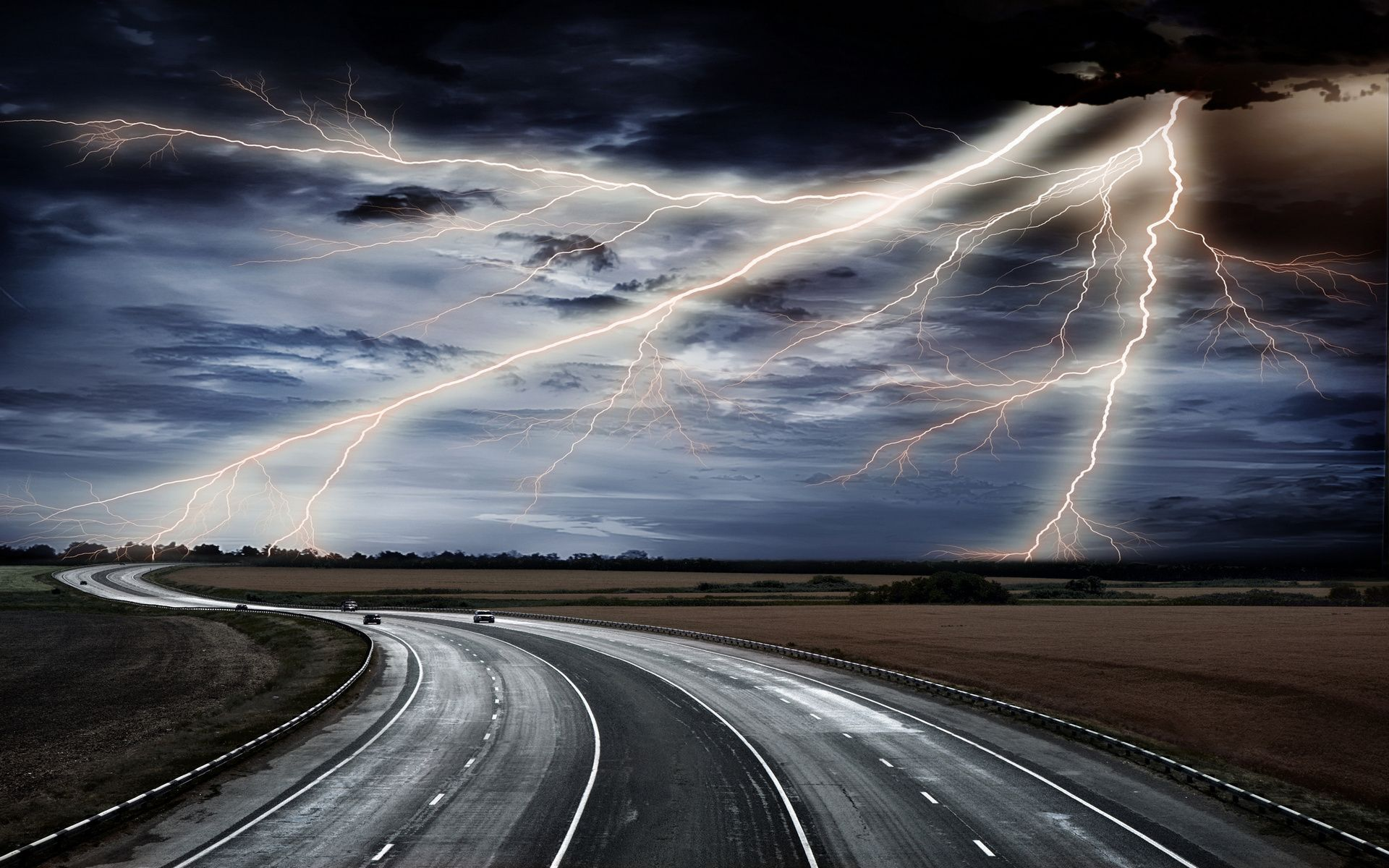 Lightning HD Wallpapers  Backgrounds  Wallpaper  1920x1200