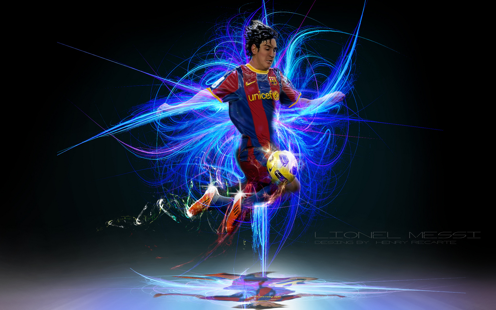Lionel Messi Wallpapers HD Wallpaper  1600x1000