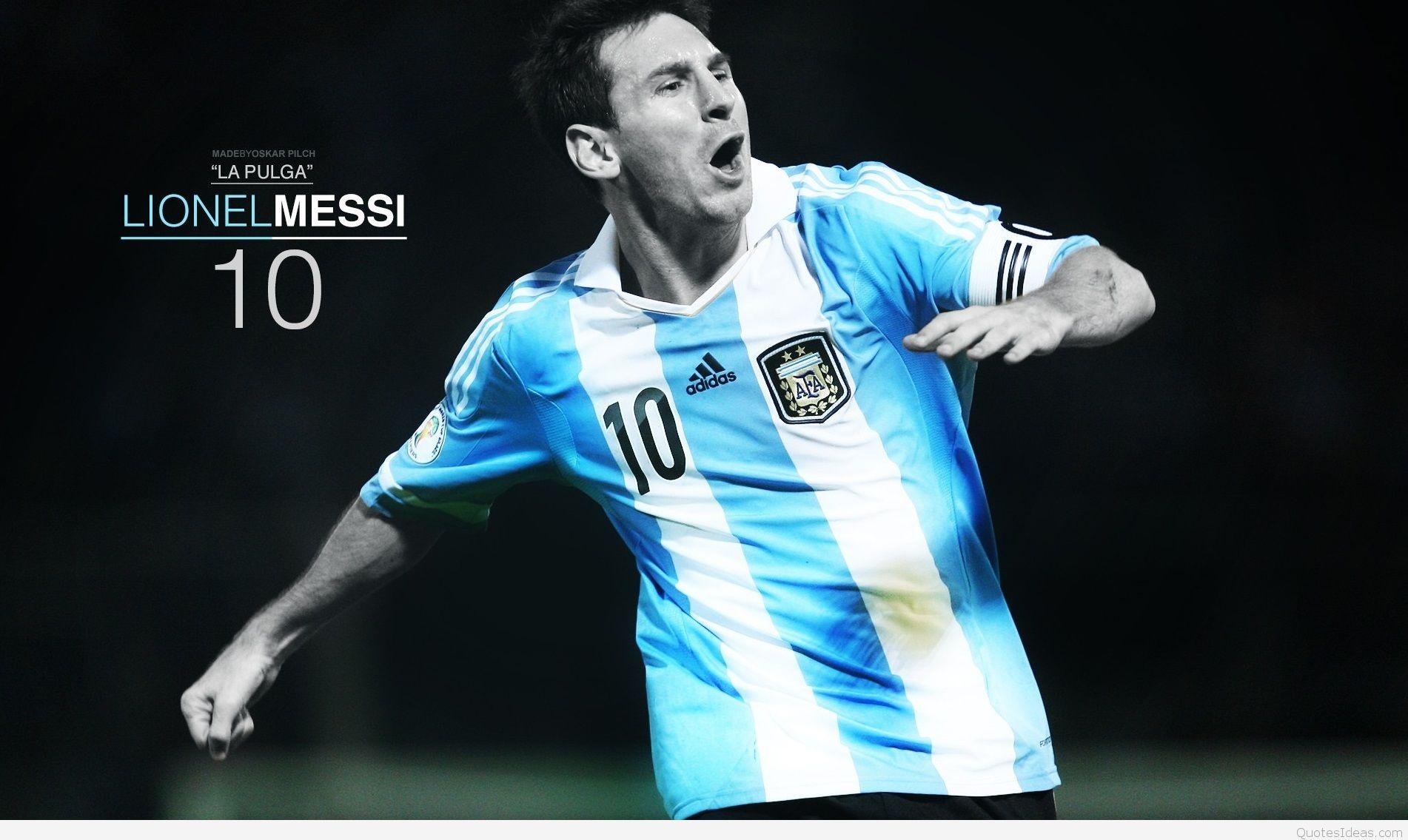 Lionel Messi Hd Desktop Wallpaper Widescreen High Definition