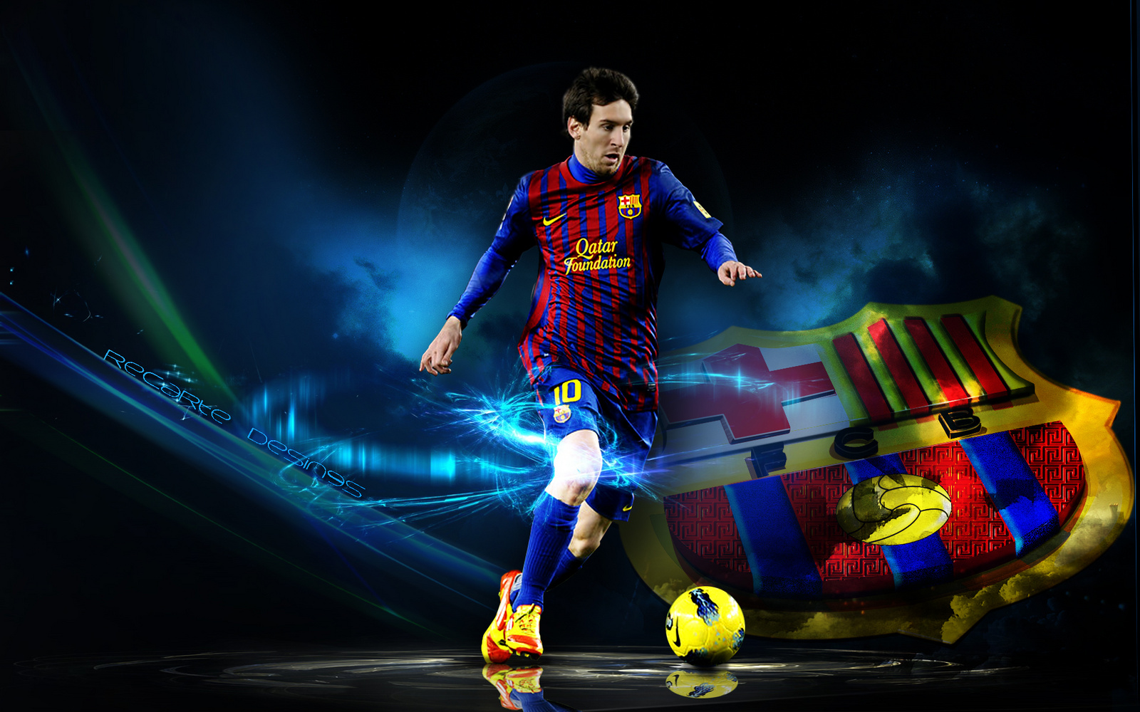 Lionel Messi Wallpapers High Quality  Download Free 1600x1000