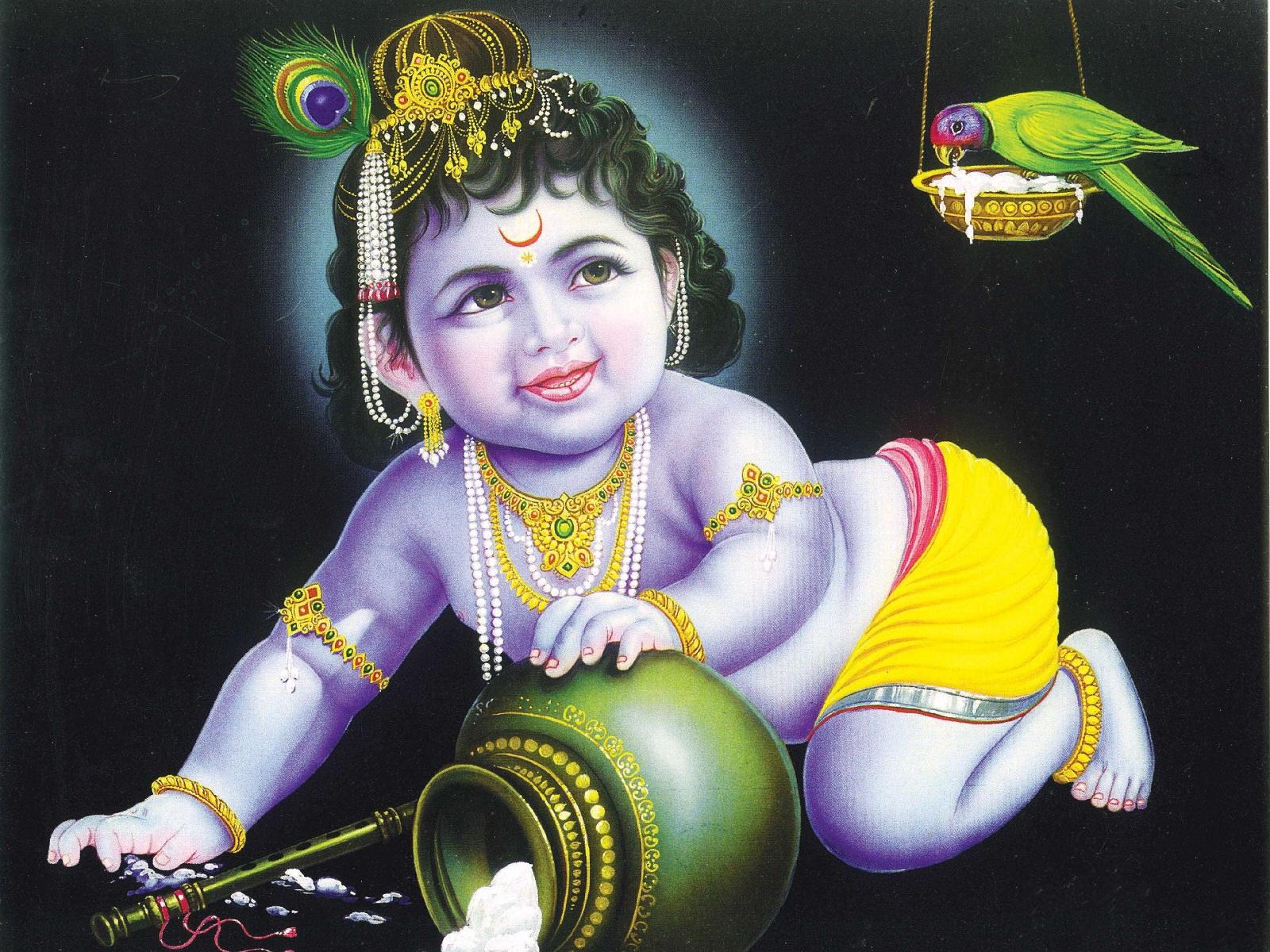 cute krishna wallpapers free