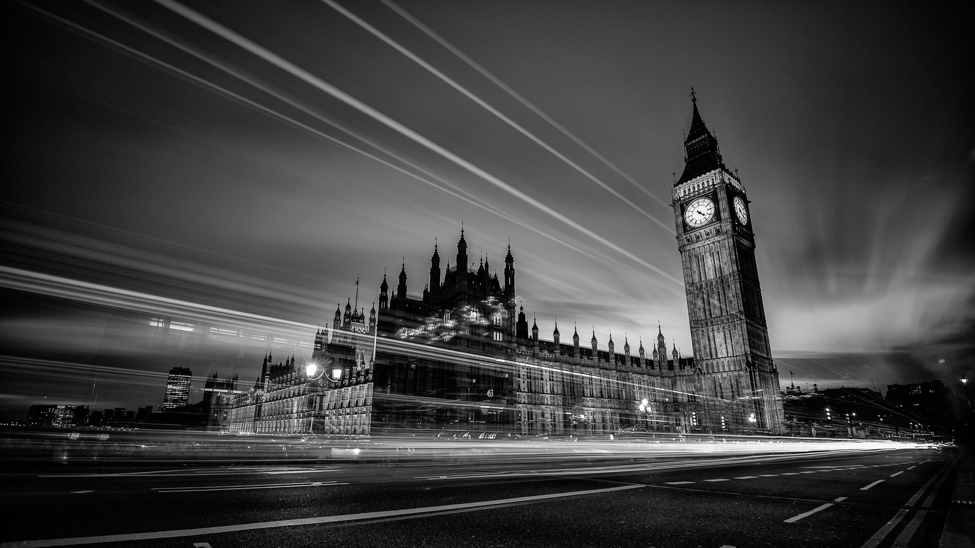 London black and white wallpapers 37 wallpapers for Black and white london mural wallpaper