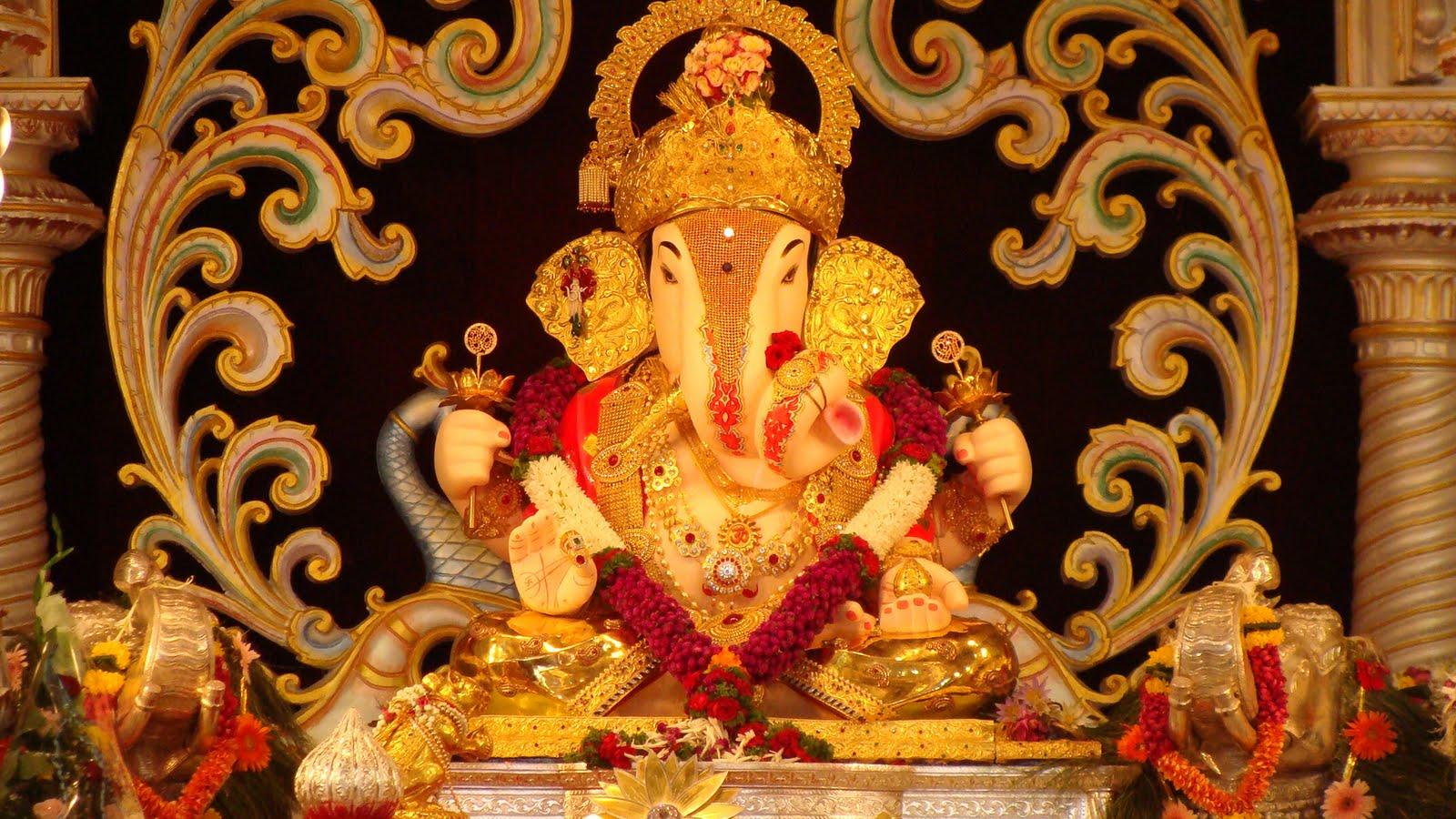 God Ganesha Hd Wallpaper Free Download Powermall