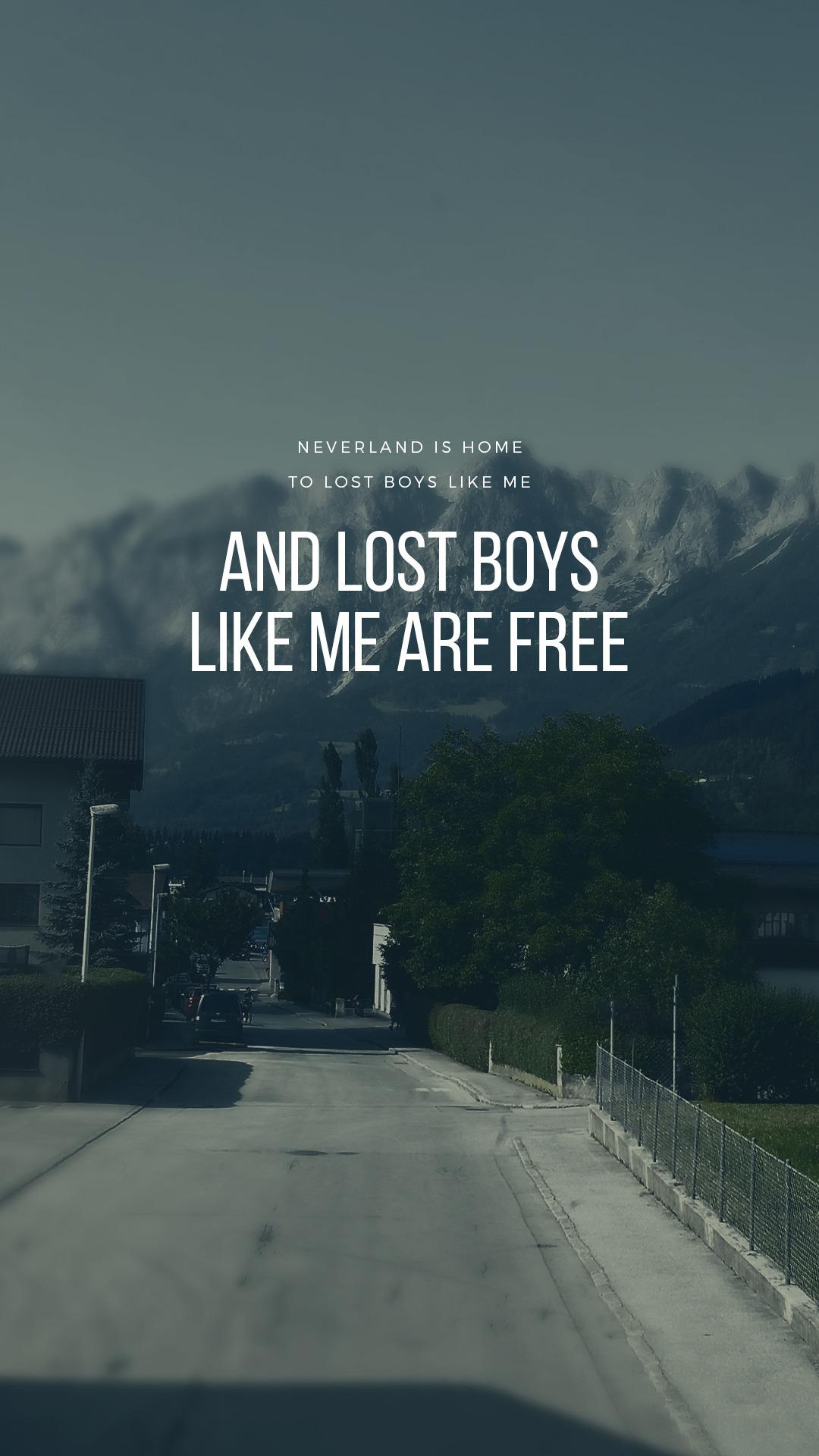 Lost Boy Wallpapers Wallpaper