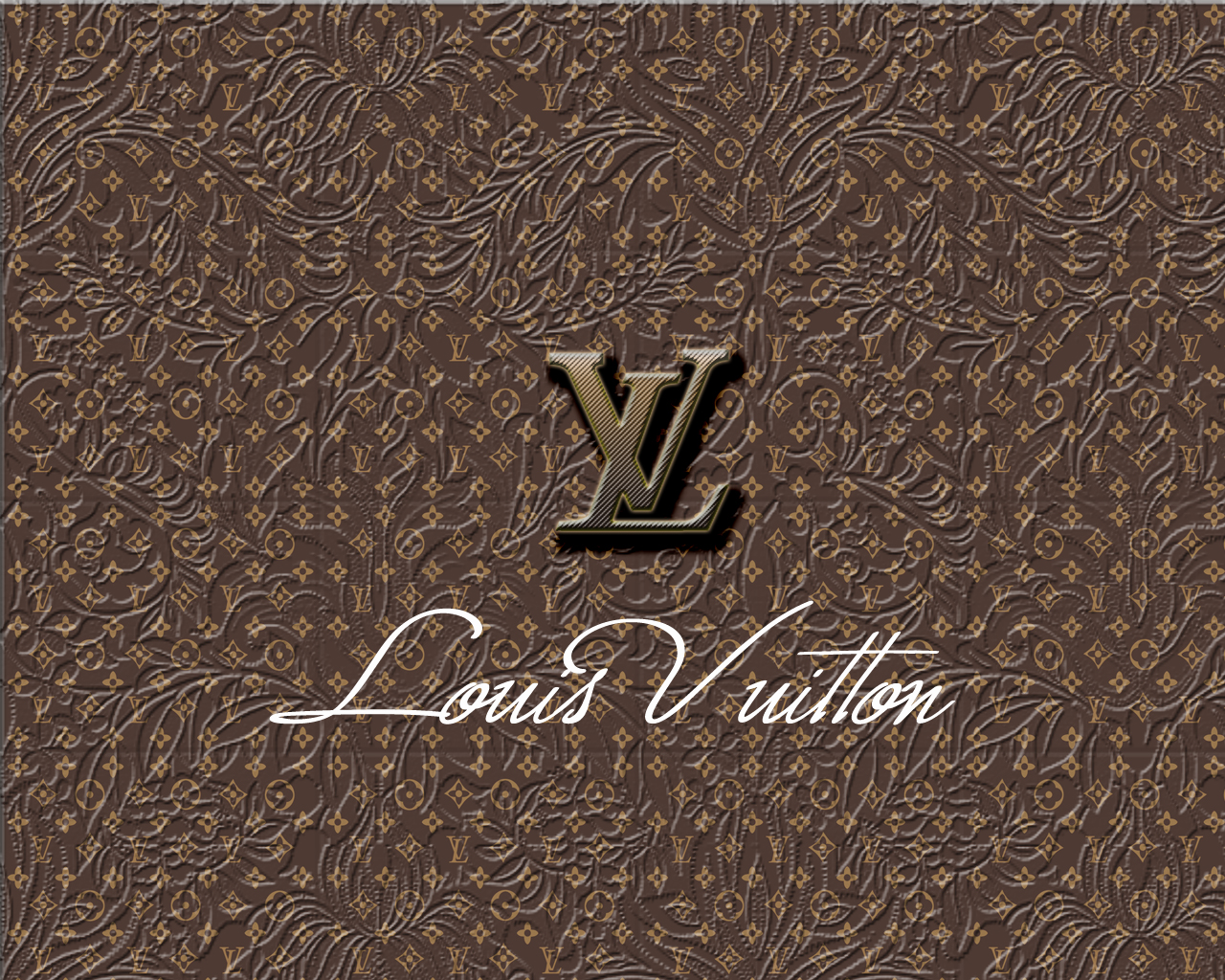 Louis Vuitton BW iPhone s Wallpaper Download  iPhone Wallpapers 1280x1024