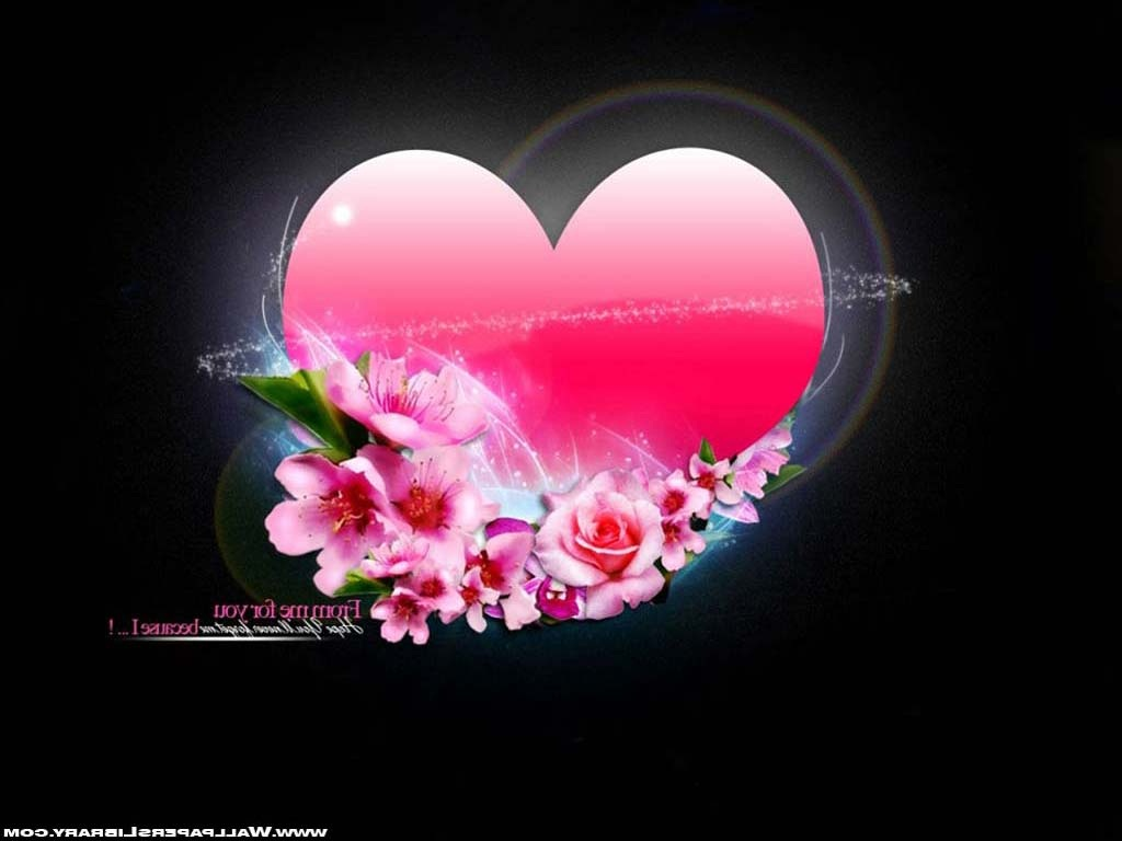 Beautiful Love Gift Wallpaper : Beautiful Flower Wallpapers For You: Gift and Love Flower Wallpaper 1024x768