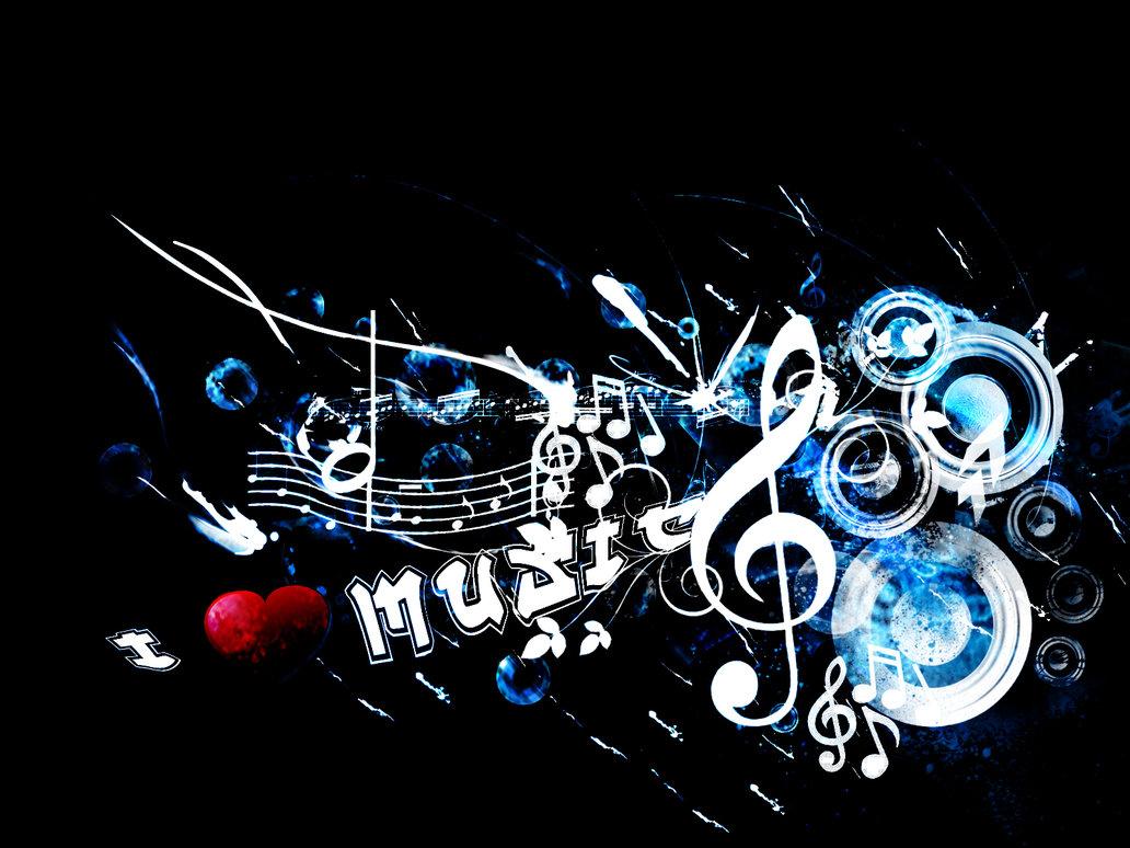 I Love Music Wallpaper Wallpaper Free Download 1032x774