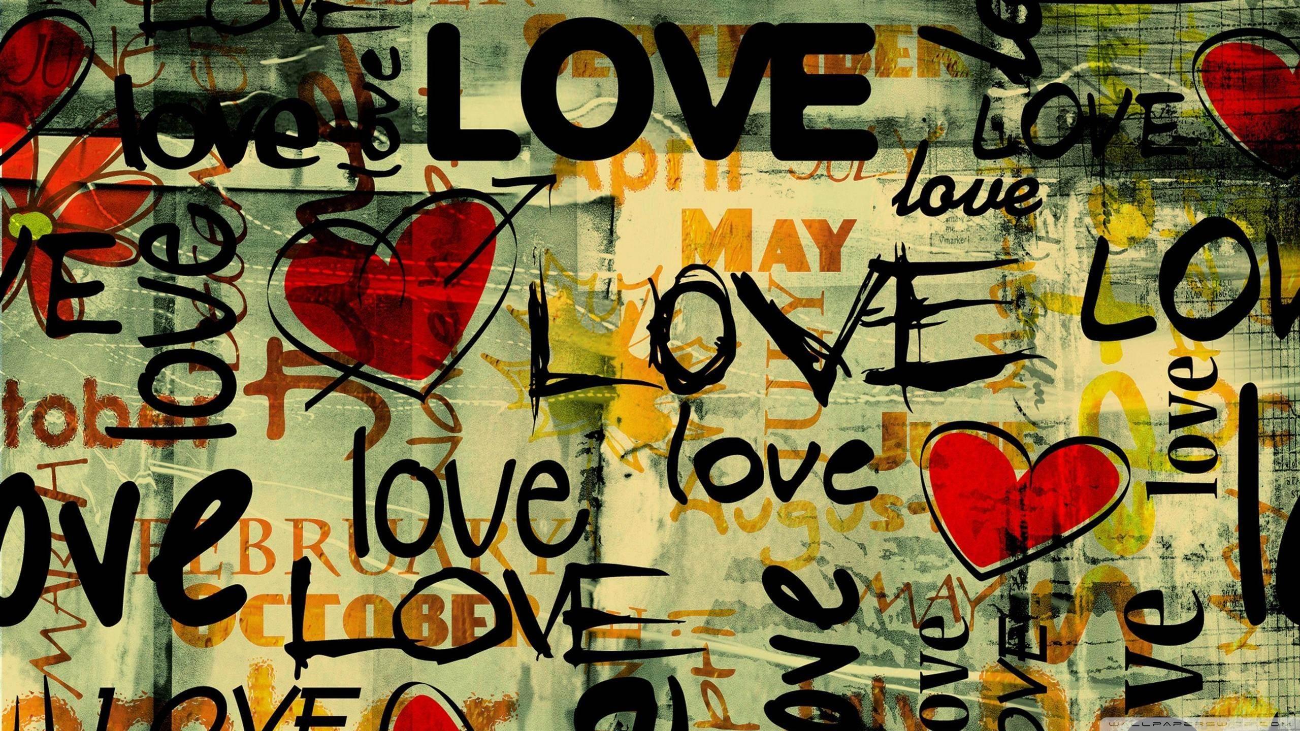 D Love Couple Cartoon Wallpapers Download D Wallpaper Hd 2560x1440