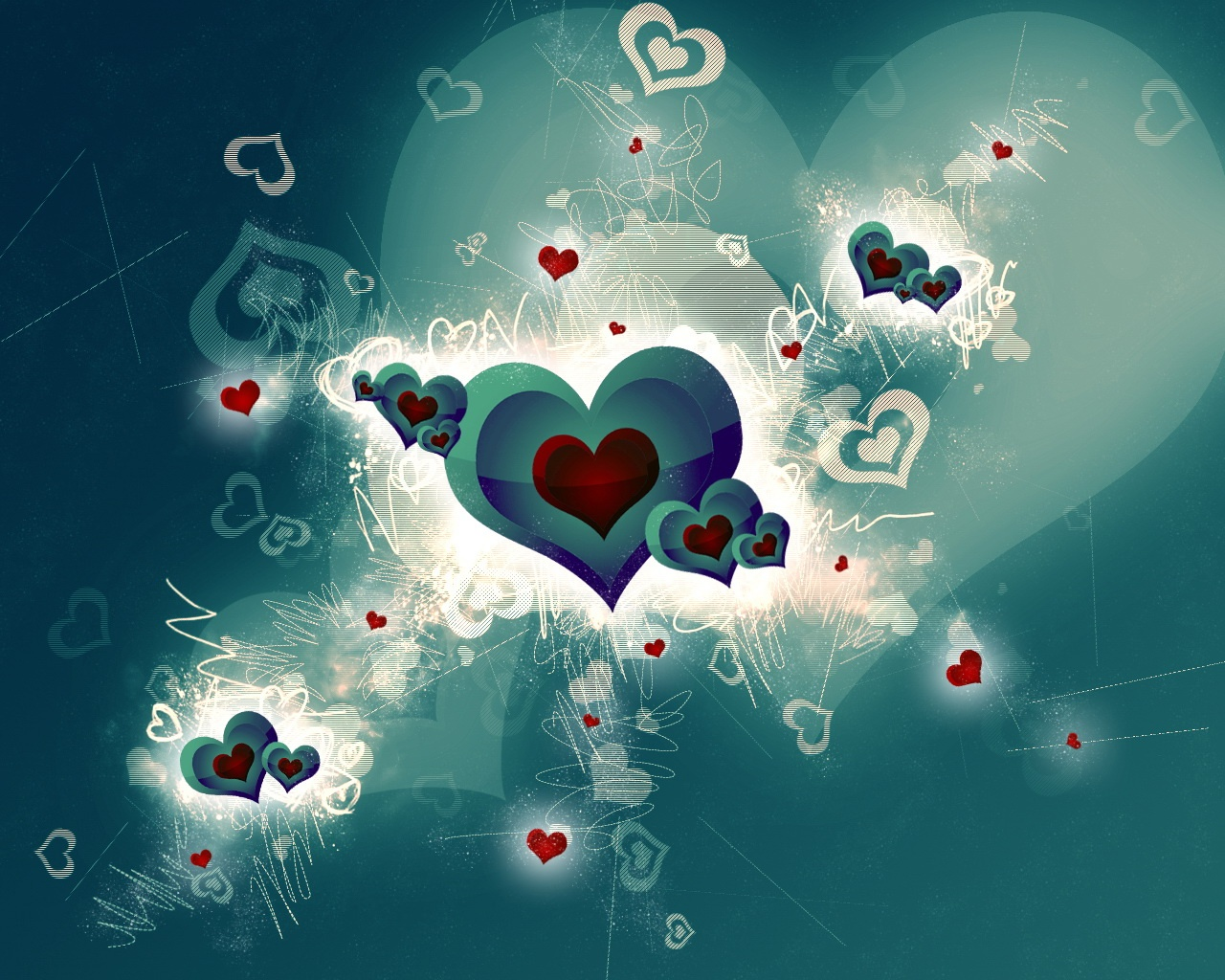 Wallpaper Love, Romance and Heart Wallpapers 1280x1024