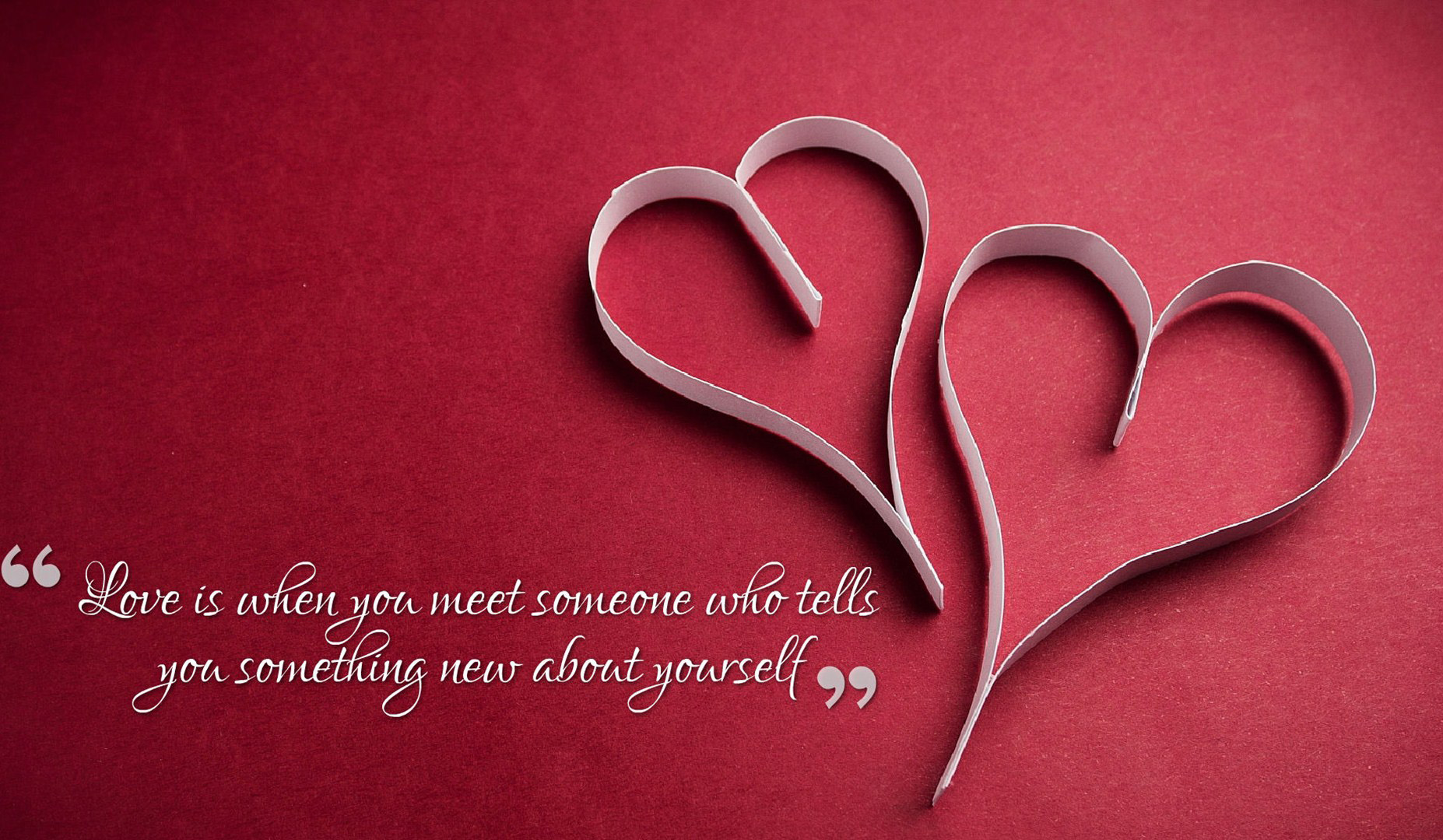 Collection of Love Wallpapers With Quotes on HDWallpapers 1854x1080