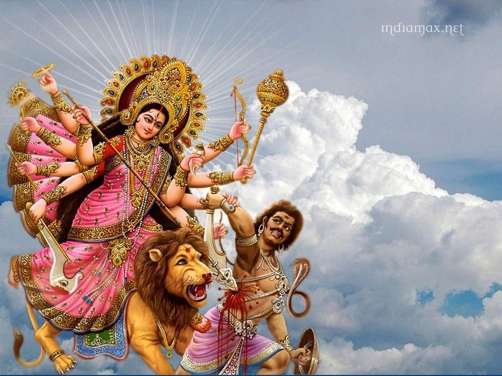 Beautiful pictures of maa durga hd