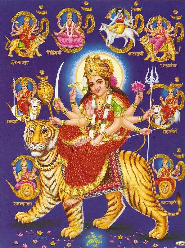 Goddess Durga Festival And Events Maa Durga Shakti Navdurga Nine