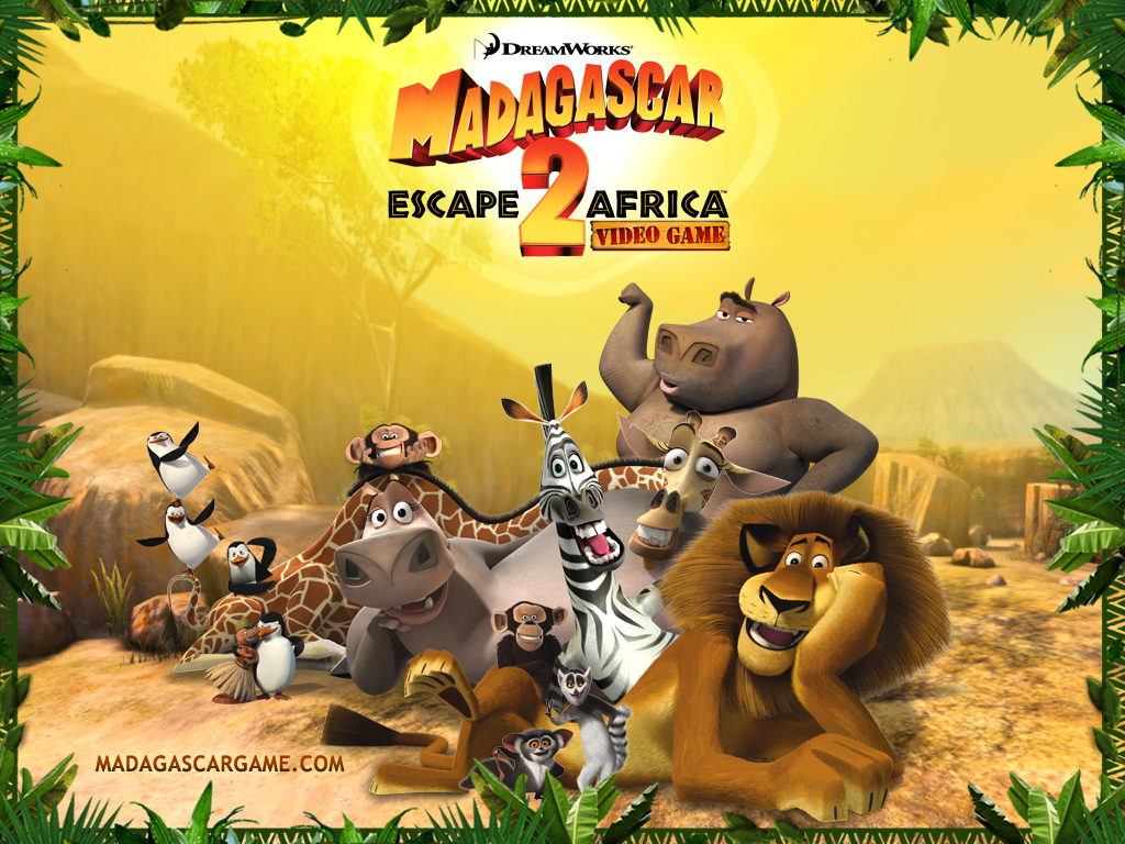 Madagascar Animation Cartoon Movie Wallpaper Free Download 1024x768