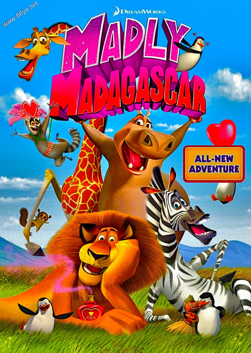 wallpaper madagascar film movies - photo #23