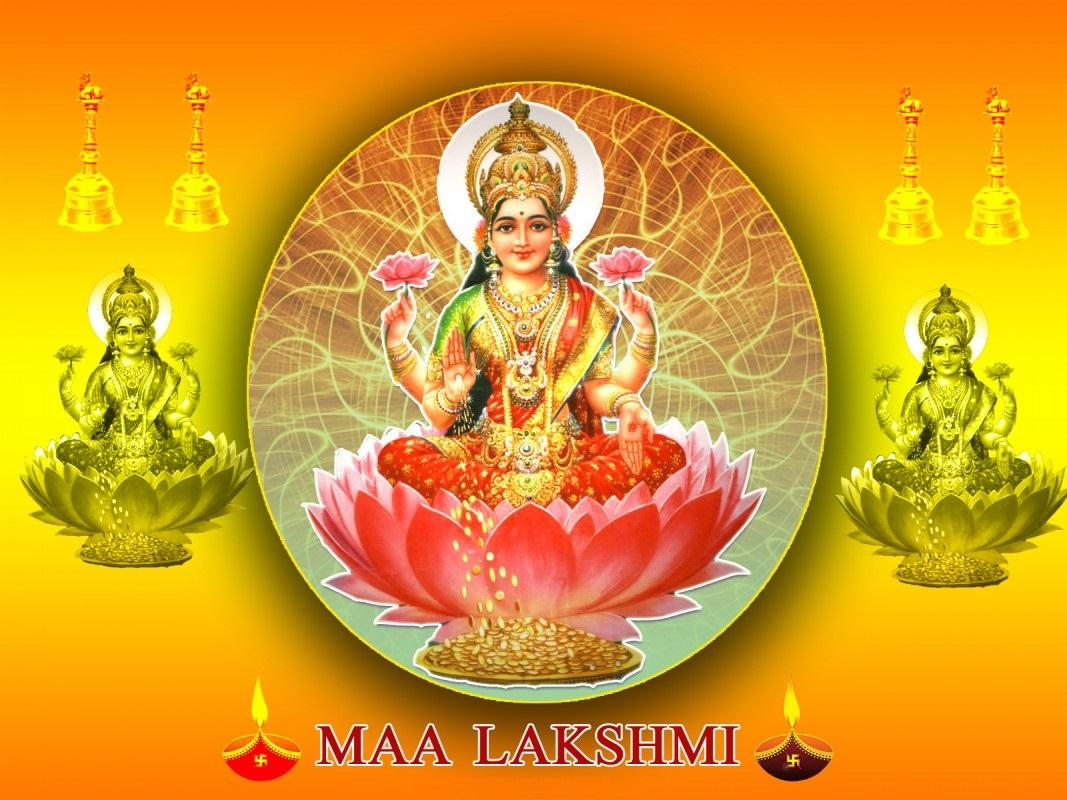 Sri Mahalakshmi God Wallpapers Mahalakshmi God Desktop Wallpapers