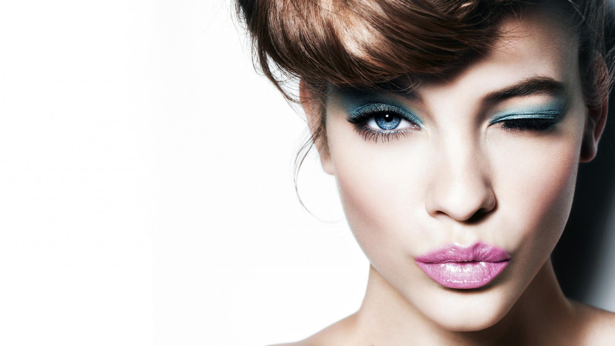обои женские прически макияж фото известных стилистов