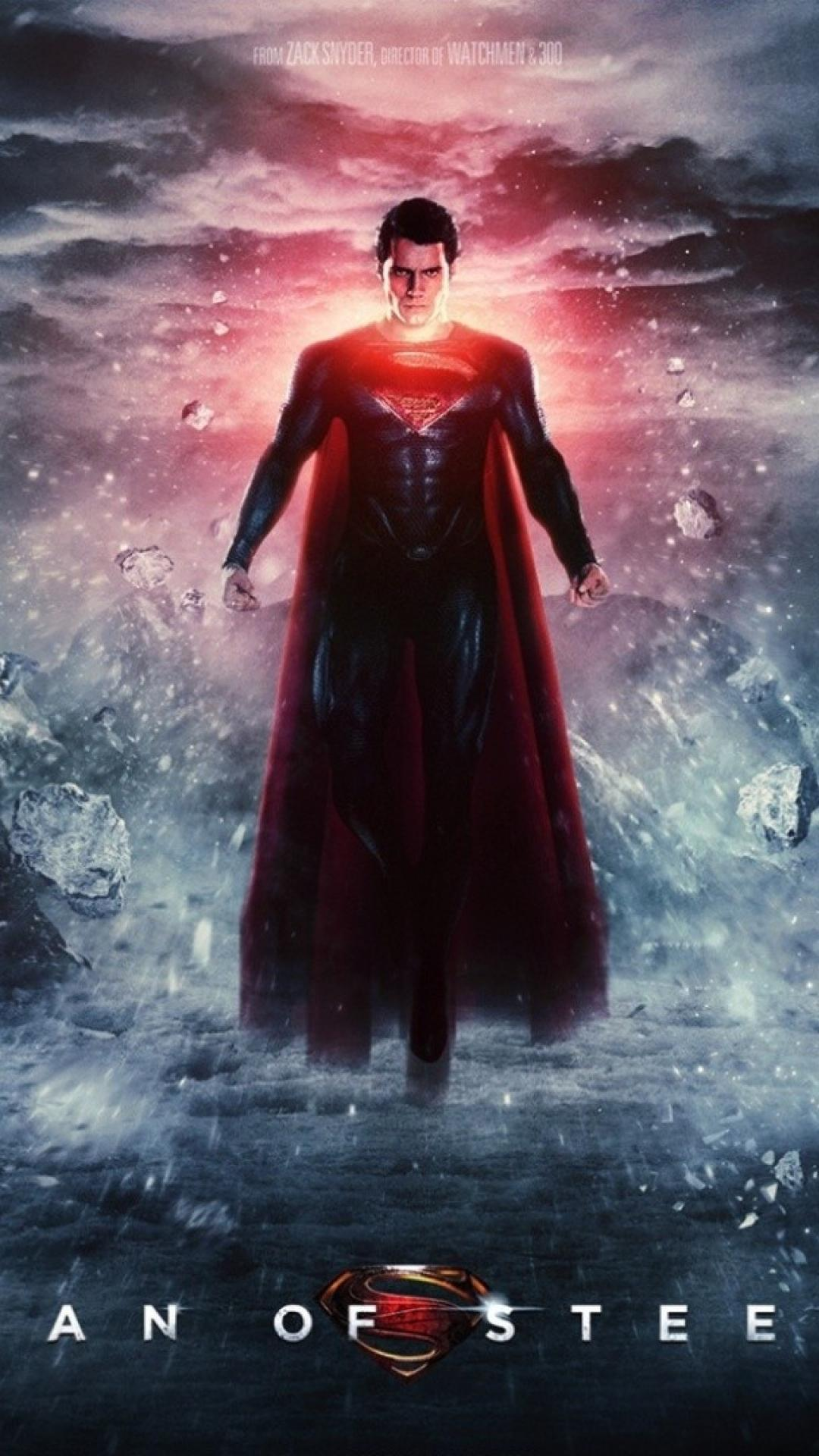 View Man Of Steel Wallpaper  PNG