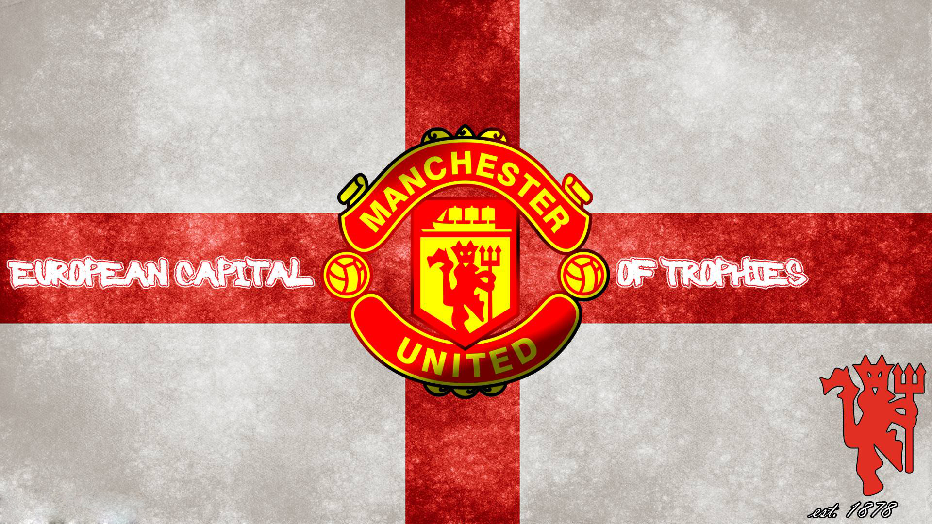 Manchester united logo wallpapers hd wallpaper 1920x1080 voltagebd Choice Image