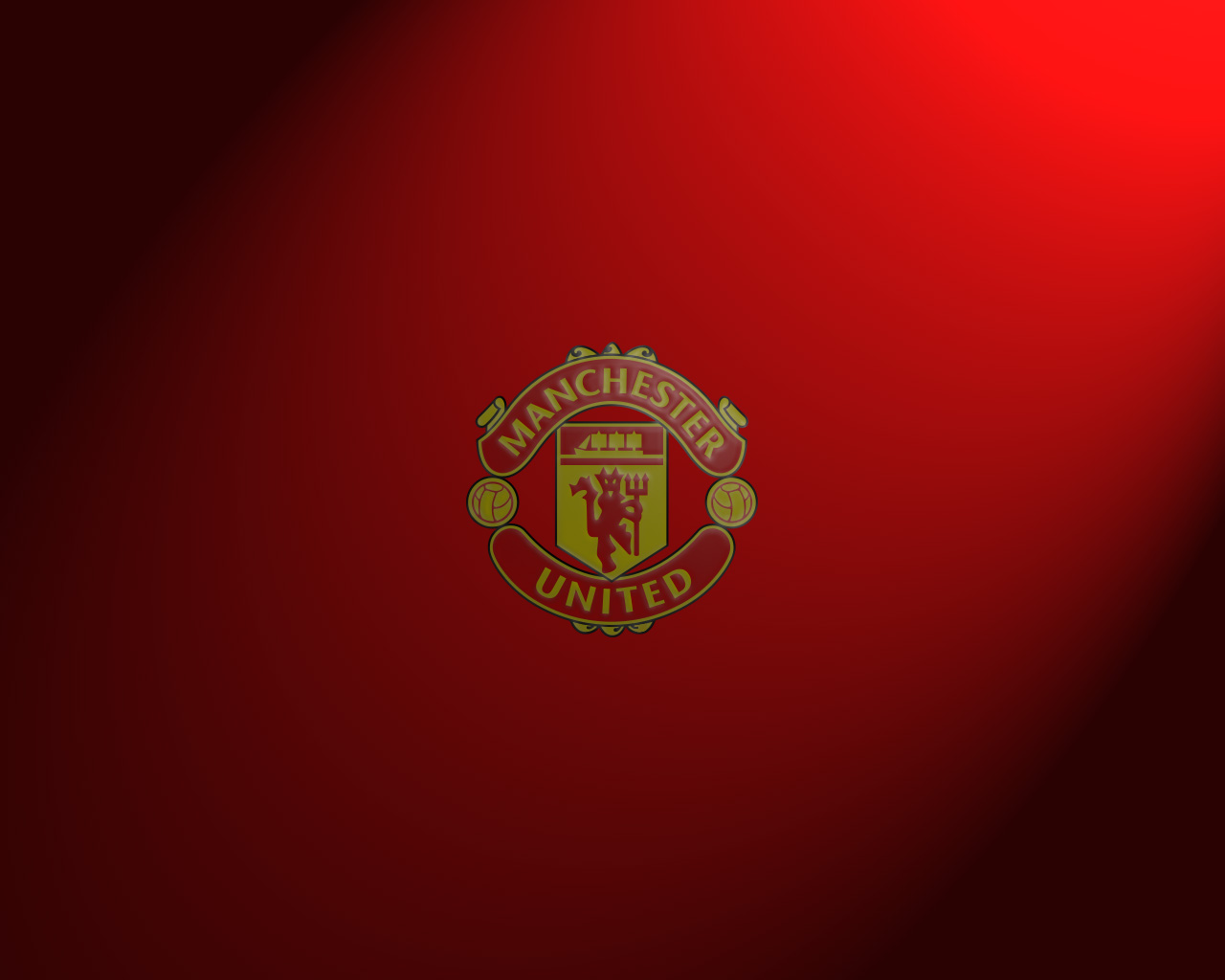 Manchester united logo wallpapers hd wallpaper 1280x1024 voltagebd Image collections