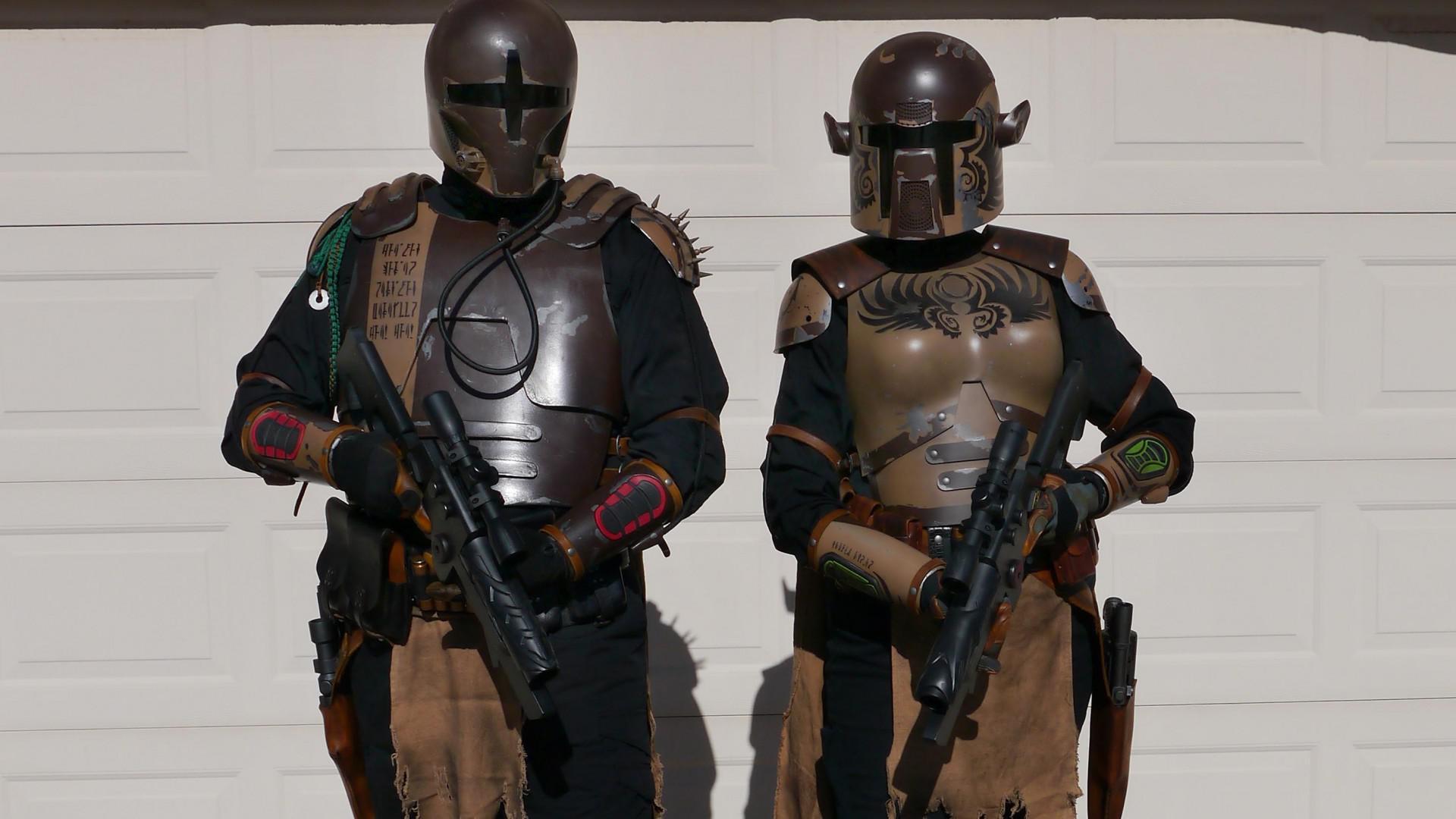 Wallpaper Clones Star Wars Jango Fett Bounty Hunter The