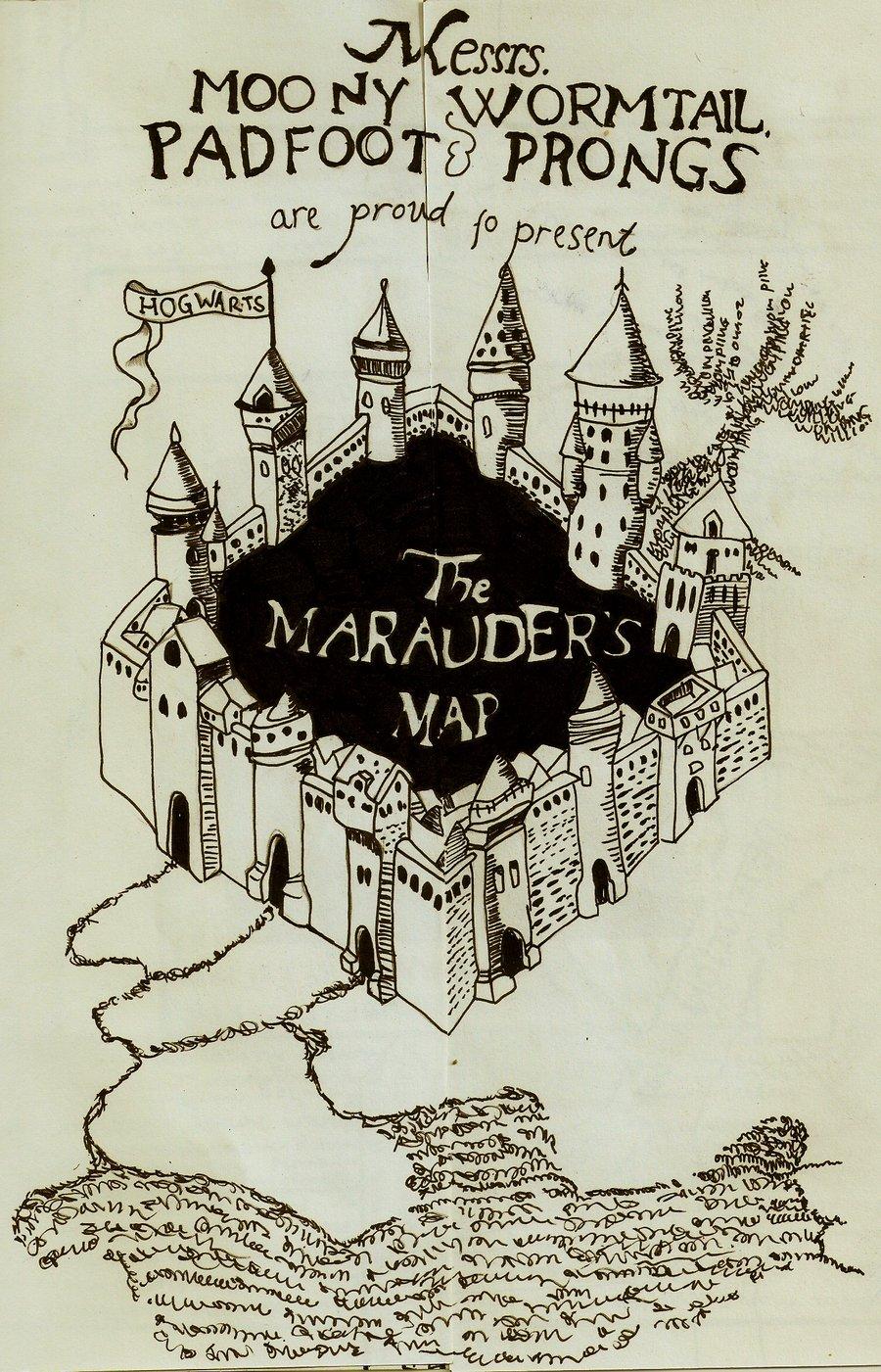 marauders map iphone app