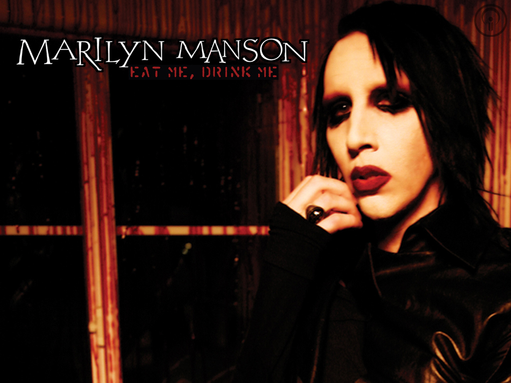 Marilyn manson wallpapers and pictures 1024x768