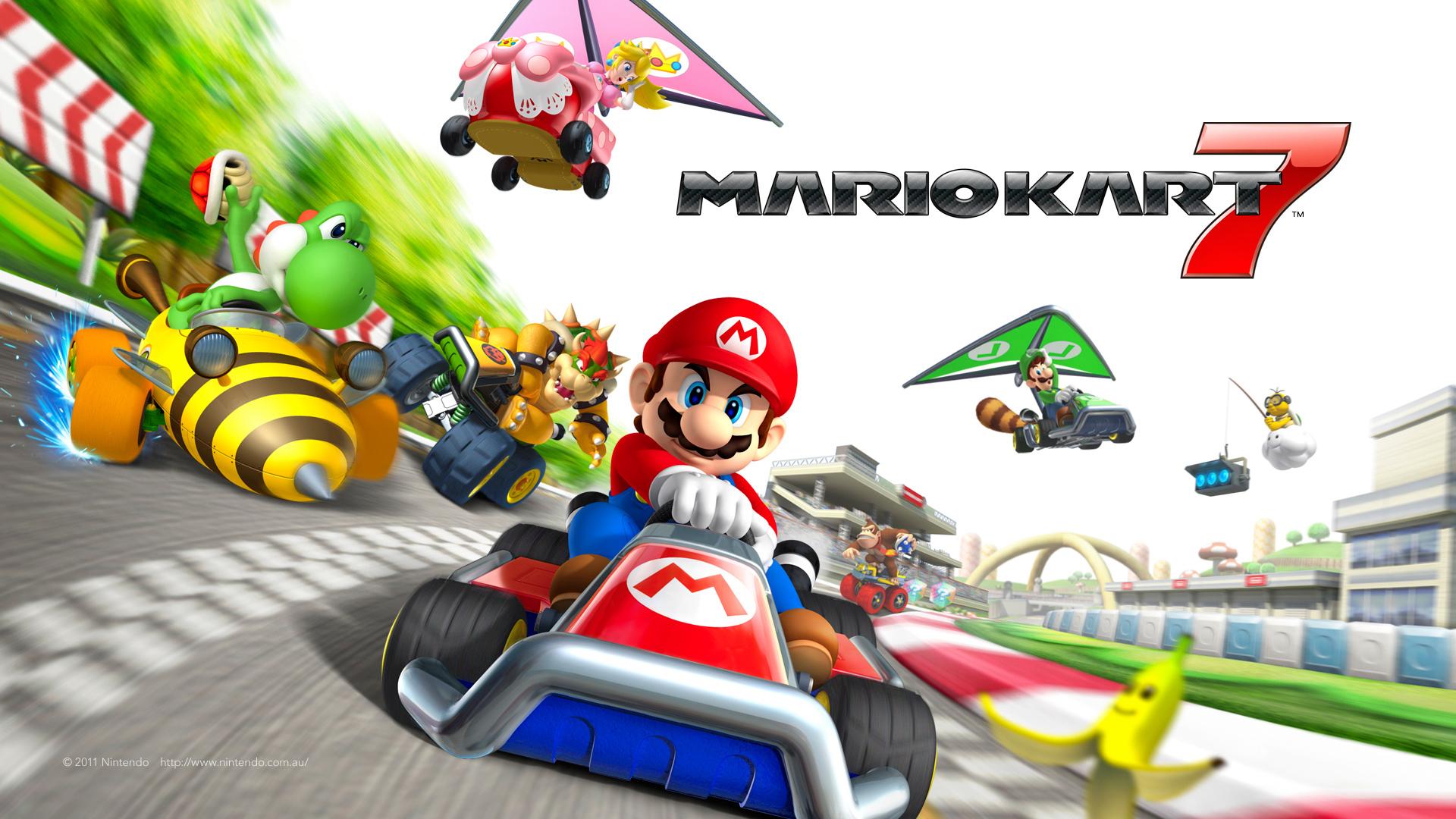 Mario Kart Double Dash Hd Wallpapers Backgrounds Wallpaper 1920x1080