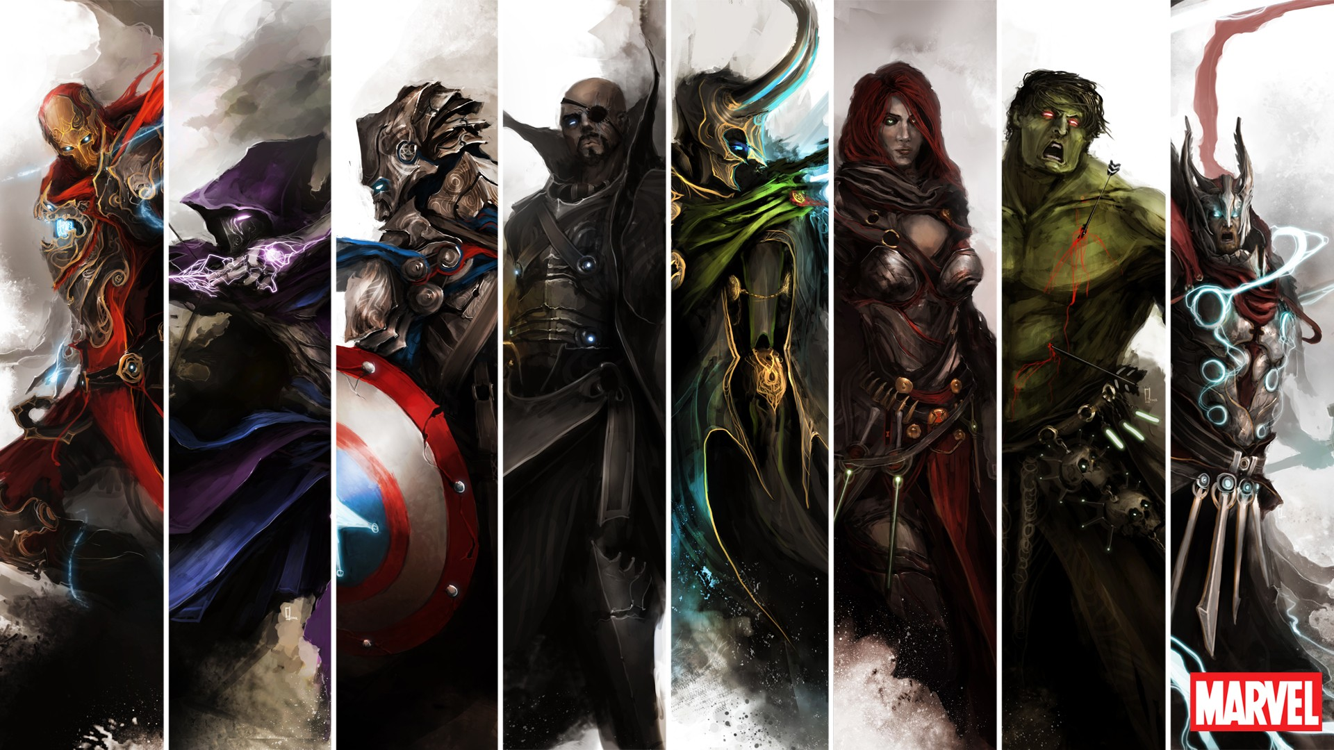 Marvel HD Wallpapers  Backgrounds  Wallpaper  1920x1080