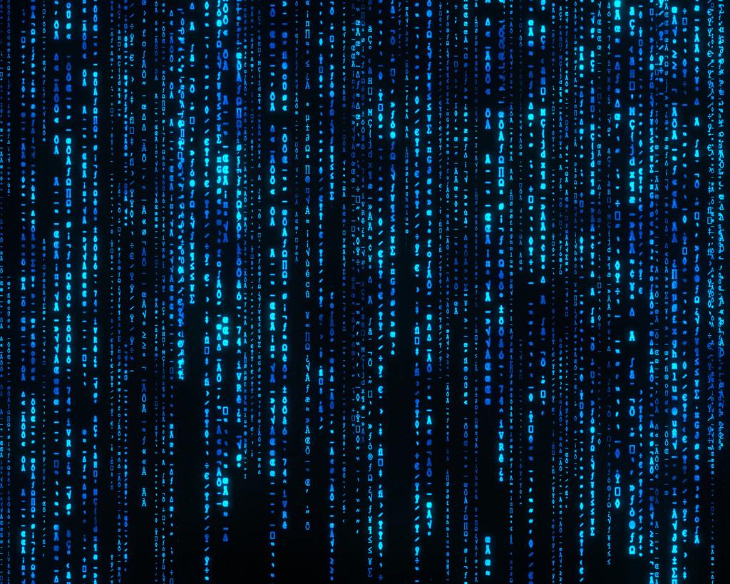 Moving Matrix Wallpaper Windows 1024x819