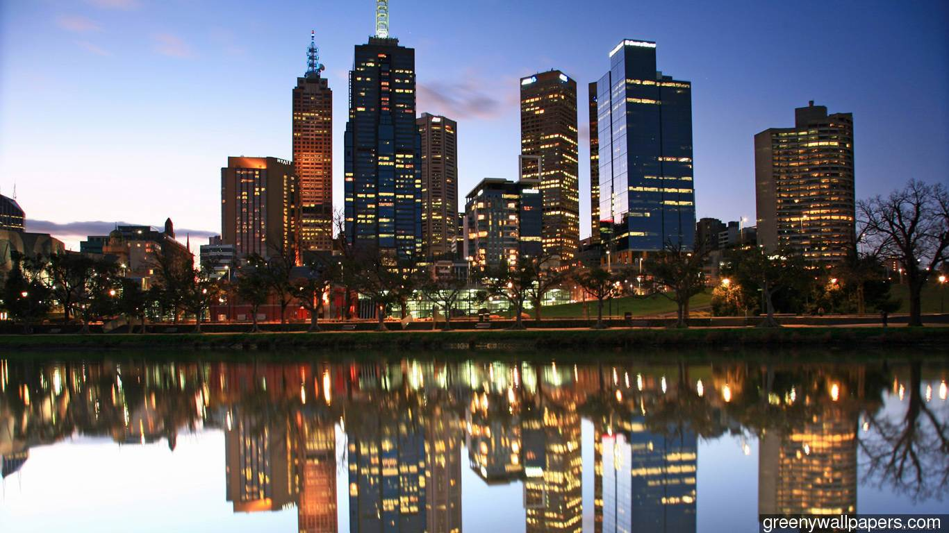 Melbourne Wallpapers Group  1366x768