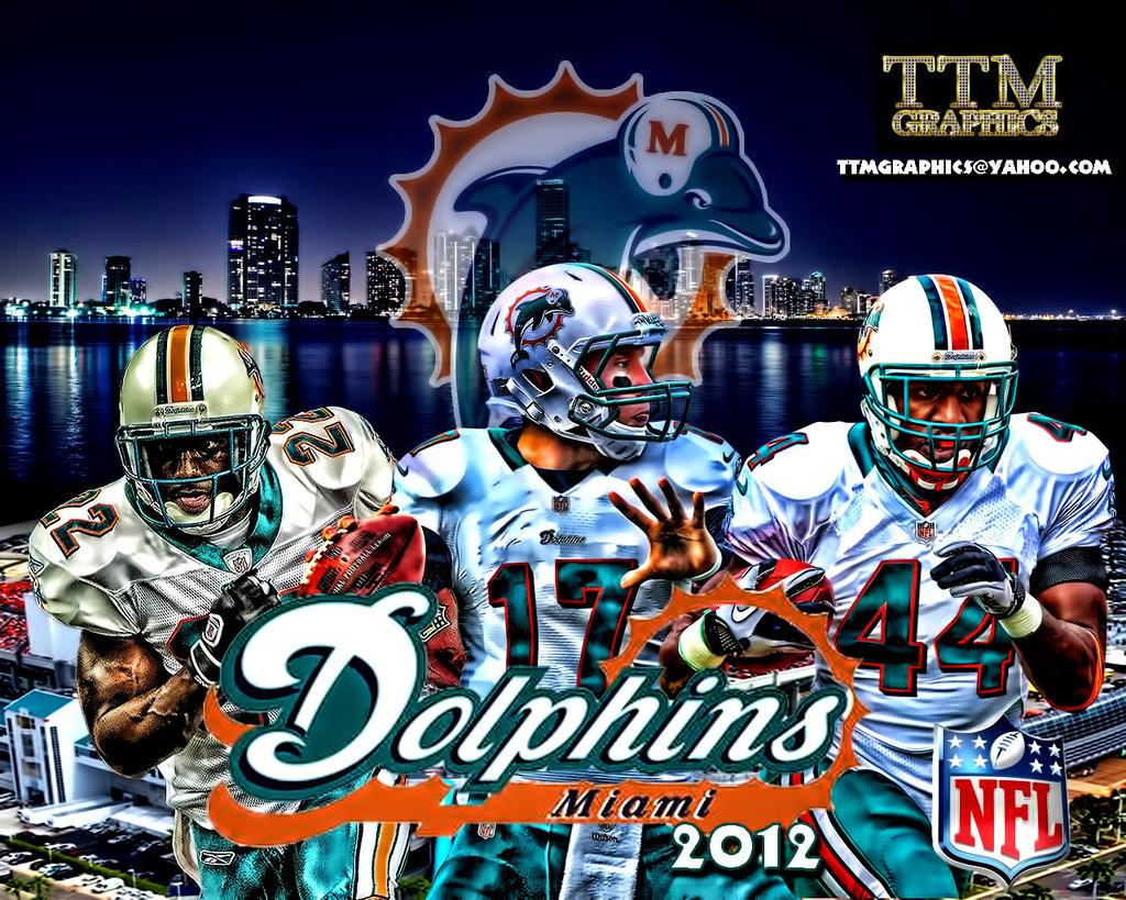 Miami Dolphins Logo Wallpaper PixelsTalk Free Miami Dolphins Wallpaper Screensavers 1024x819