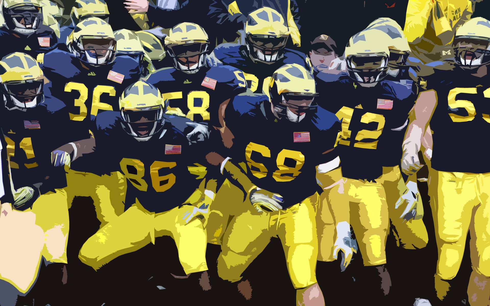 Michigan Wolverines Wallpaper   1920x1200
