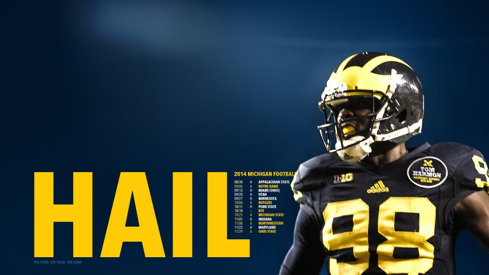 Michigan Wolverines Football Wallpapers Group  960x540