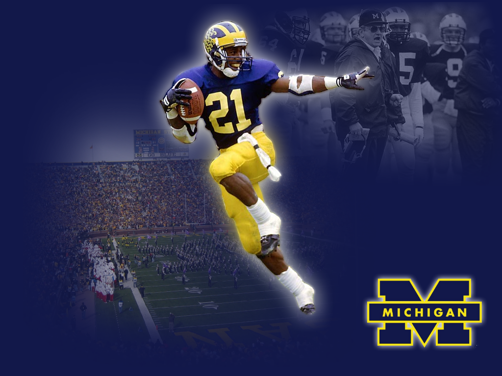 Free Michigan Wolverines iPhone  iPod Touch Wallpapers 1024x768