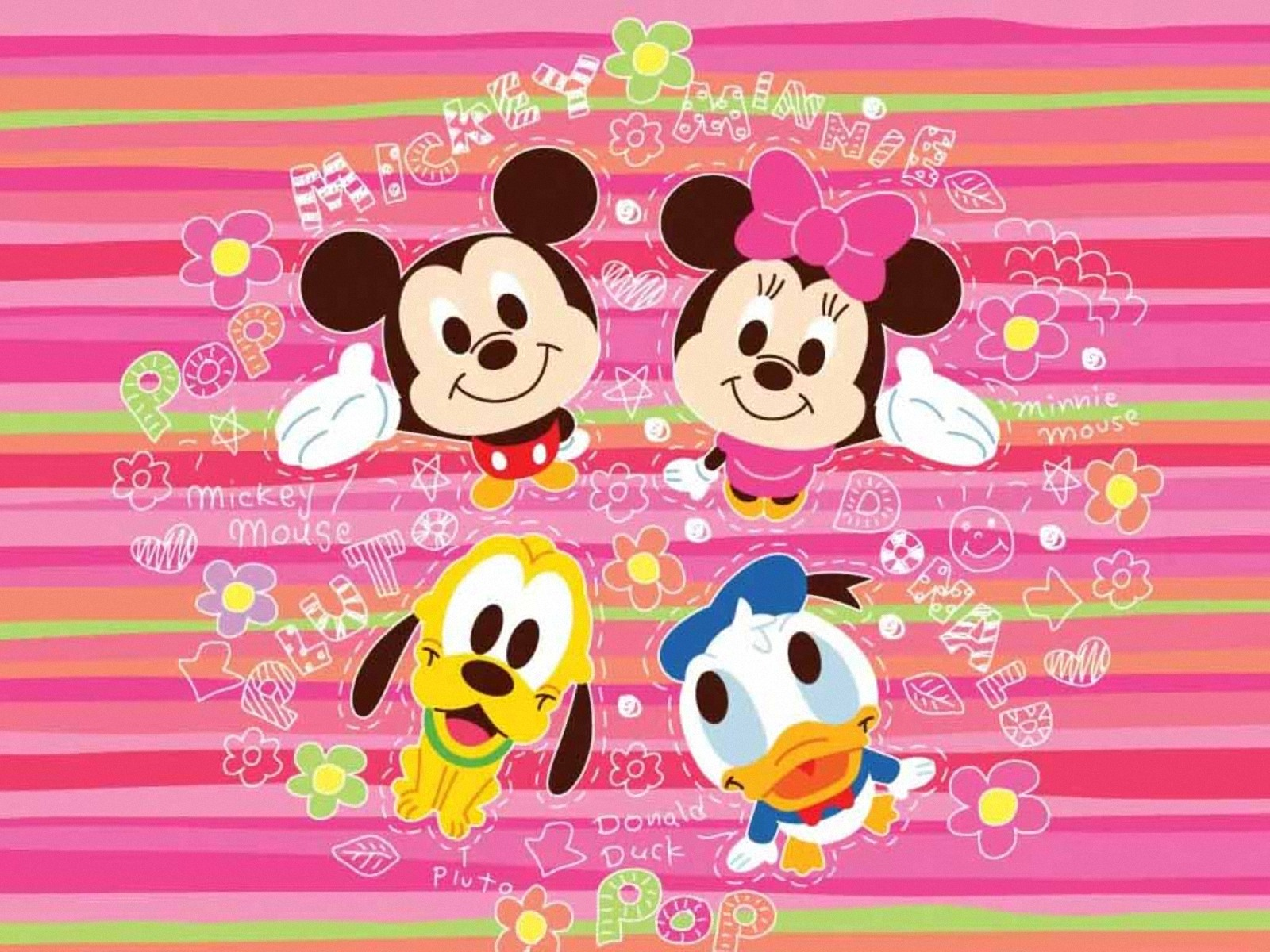 Minnie Mouse Wallpapers Wallpaper 1600x1200