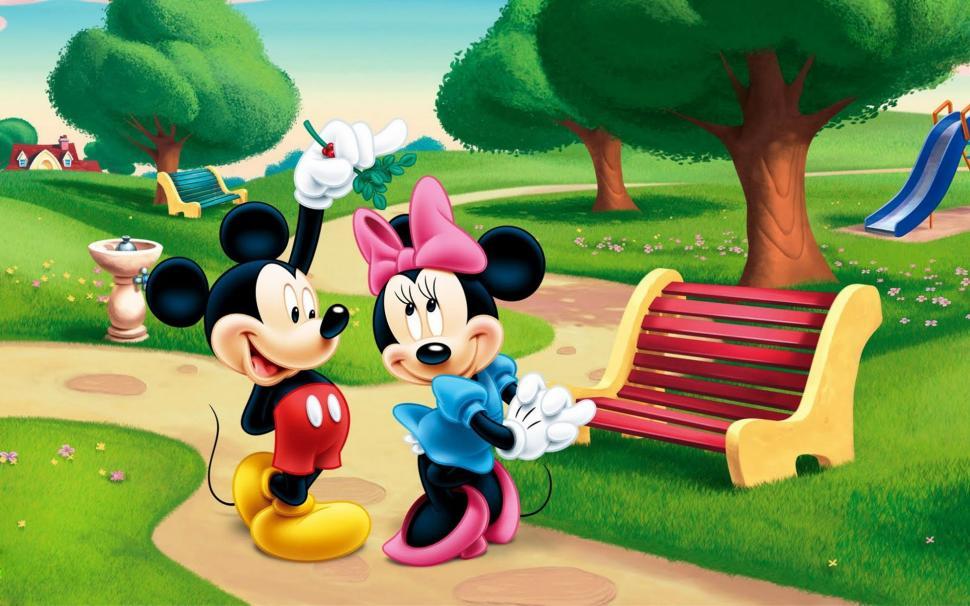 Online Get Cheap Mickey Mouse D Wallpaper Aliexpress Wallpapers Yellow HD Desktop K 970x606