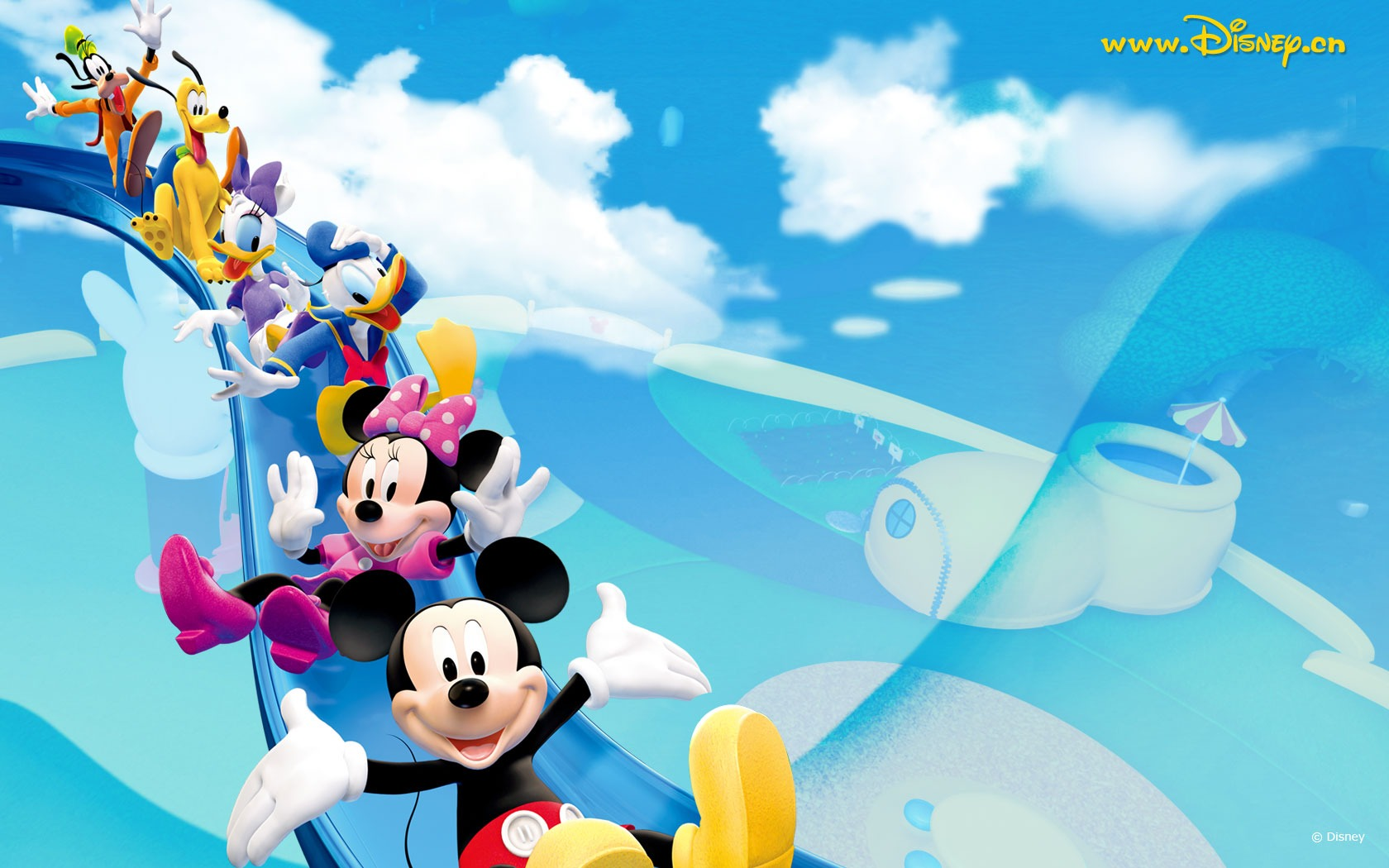 Mickey Mouse Hd Wallpapers Backgrounds Wallpaper 1680x1050