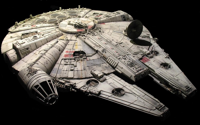 Star Wars, Millennium Falcon, Spaceship Wallpapers HD / Desktop 800x500